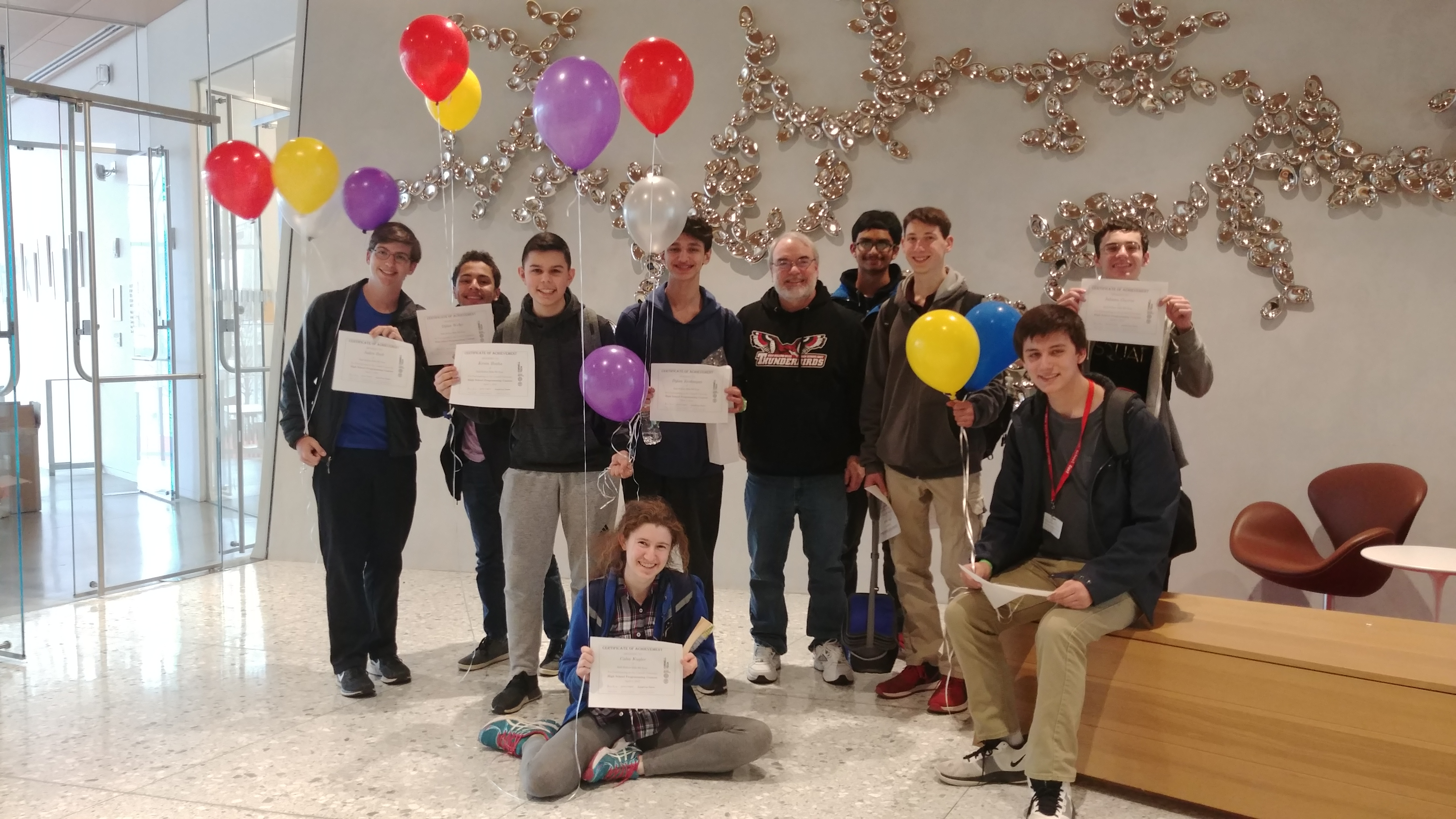 Congratulations to the American Computer Science League Team