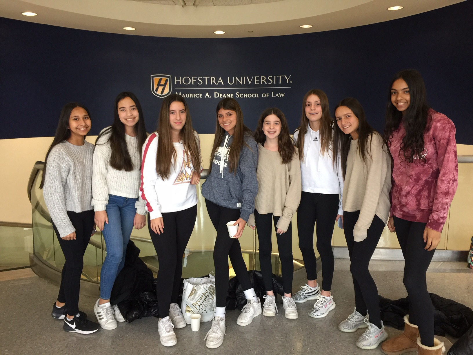 Candlewood NJHS Participates In Trial Technique Program At Hofstra School Of Law