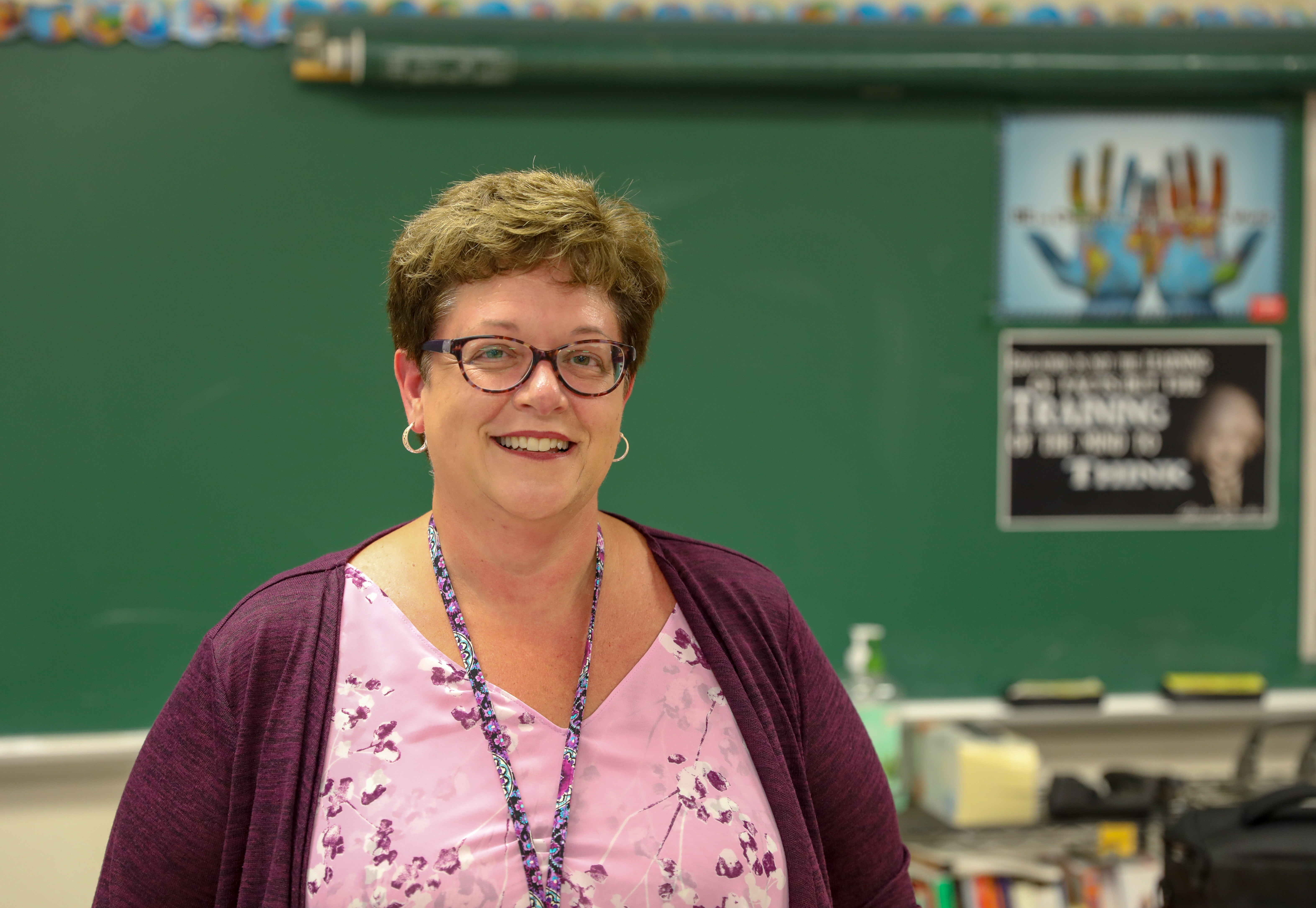 Hills East's Cynthia Cullen Named AGS Geography Teacher Fellow