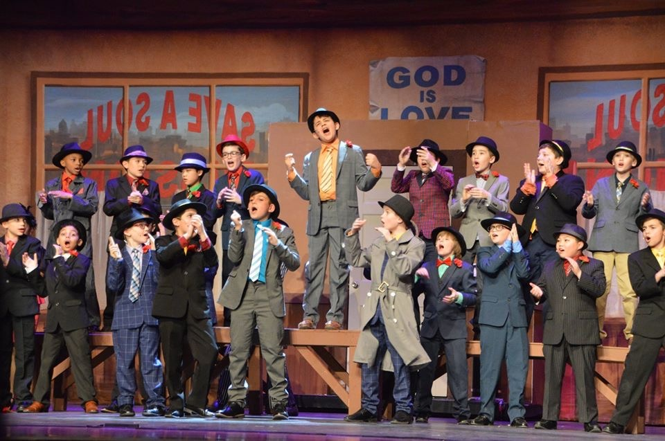 Fifth Graders Shine In Hills On Stage Performance Of Guys & Dolls Jr.
