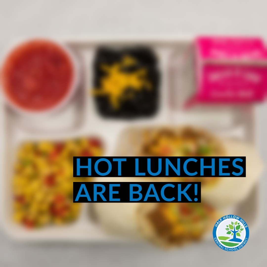 Hot Lunches Are Back!