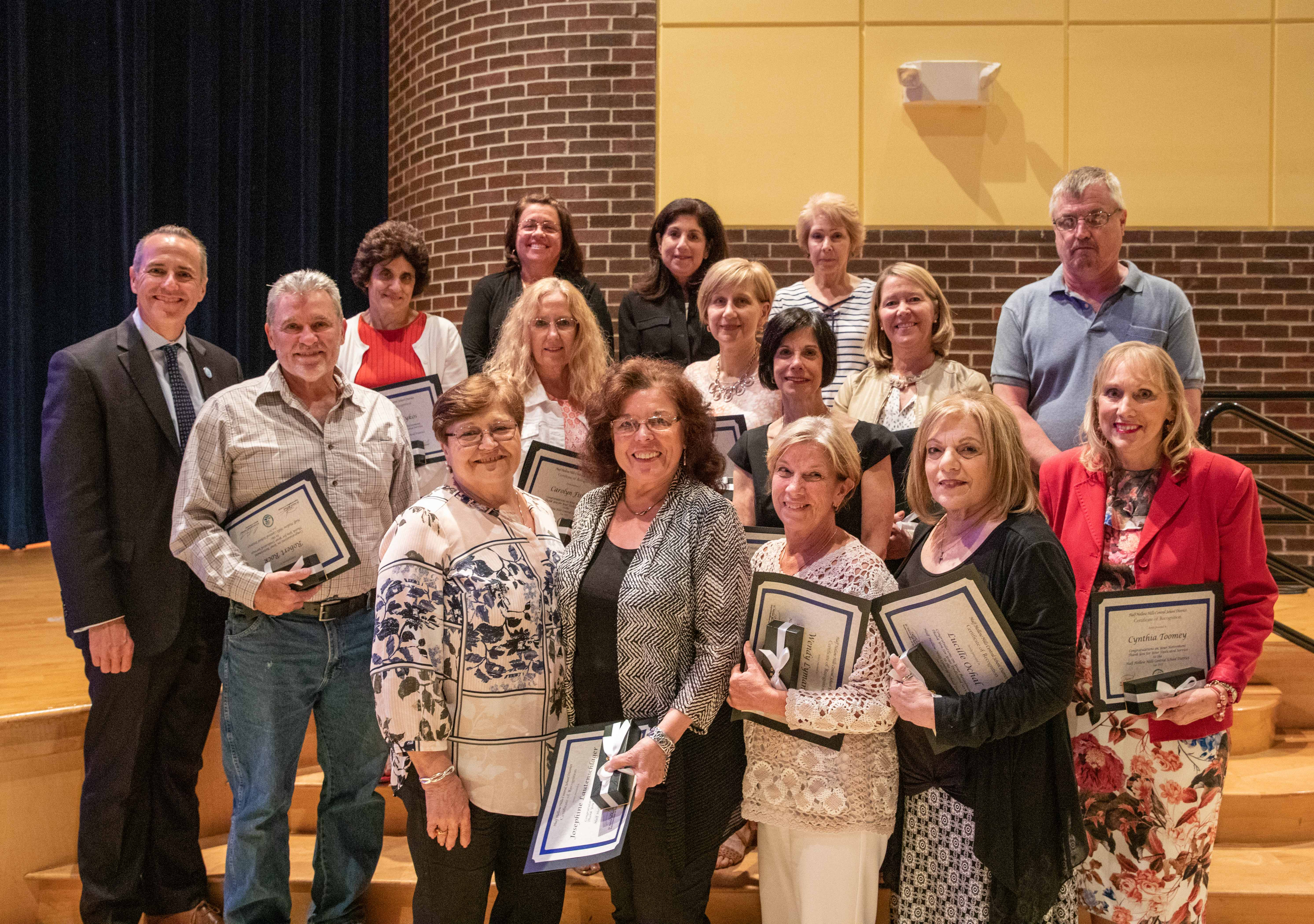 Thank You To Our Retirees