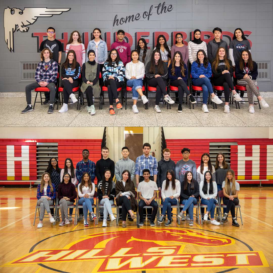 Congratulations To The Top 20 Students From High School East And High School West