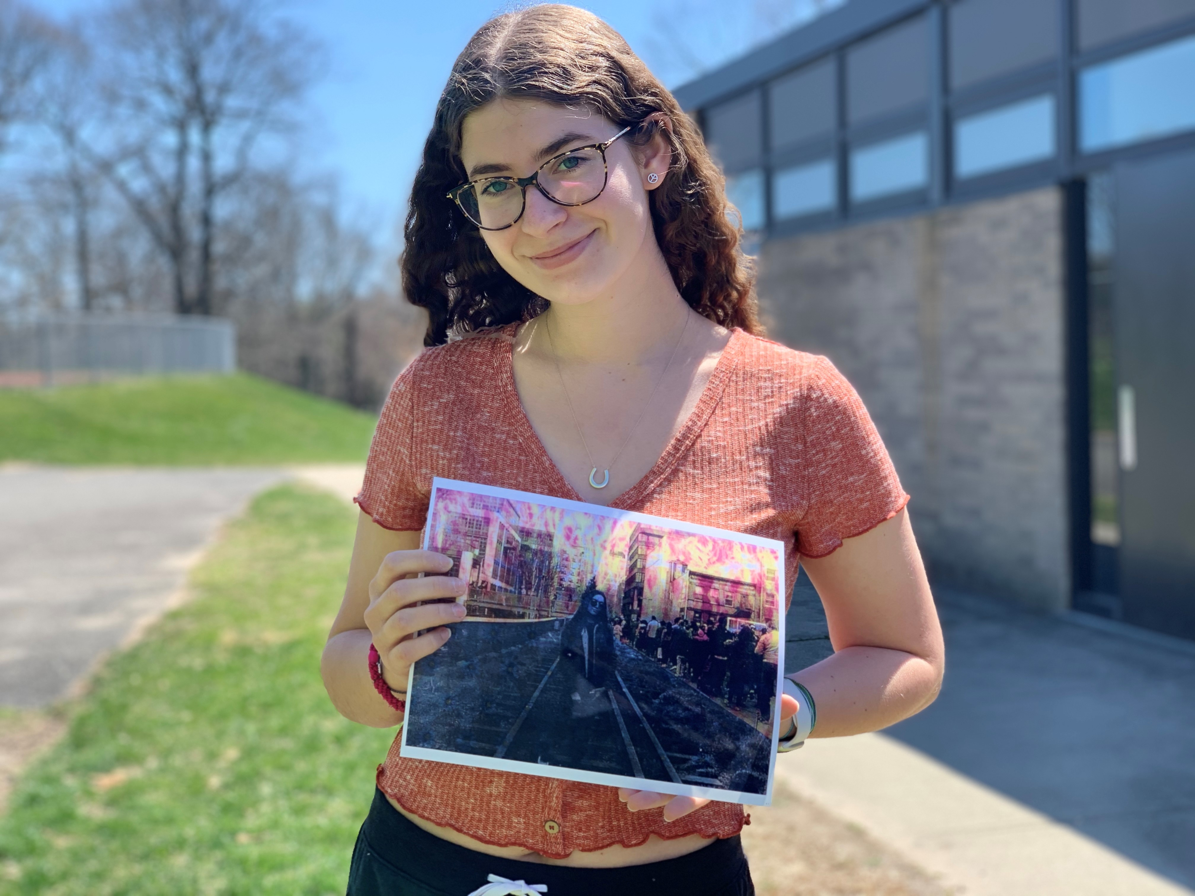 East's Brooke Broder Wins Award Of Excellence In New York State PTA Reflections Competition