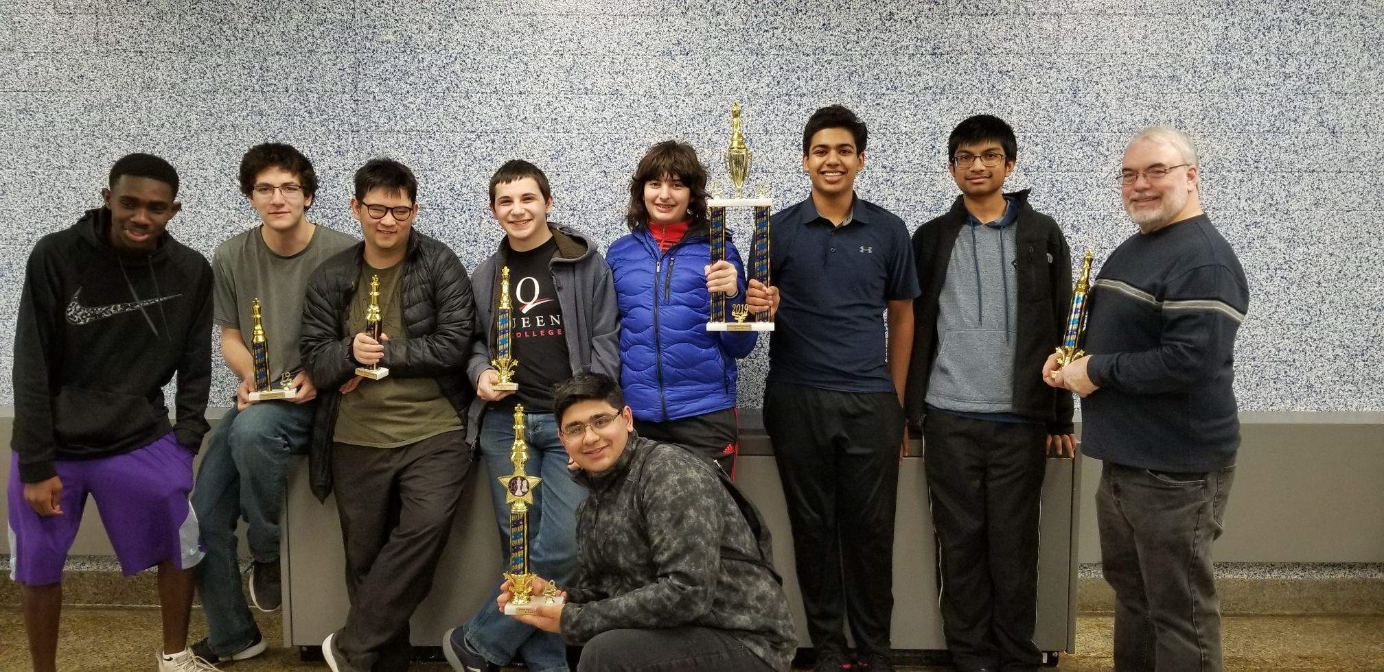 Hills East Chess Team Finishes 4th Consecutive Undefeated Season