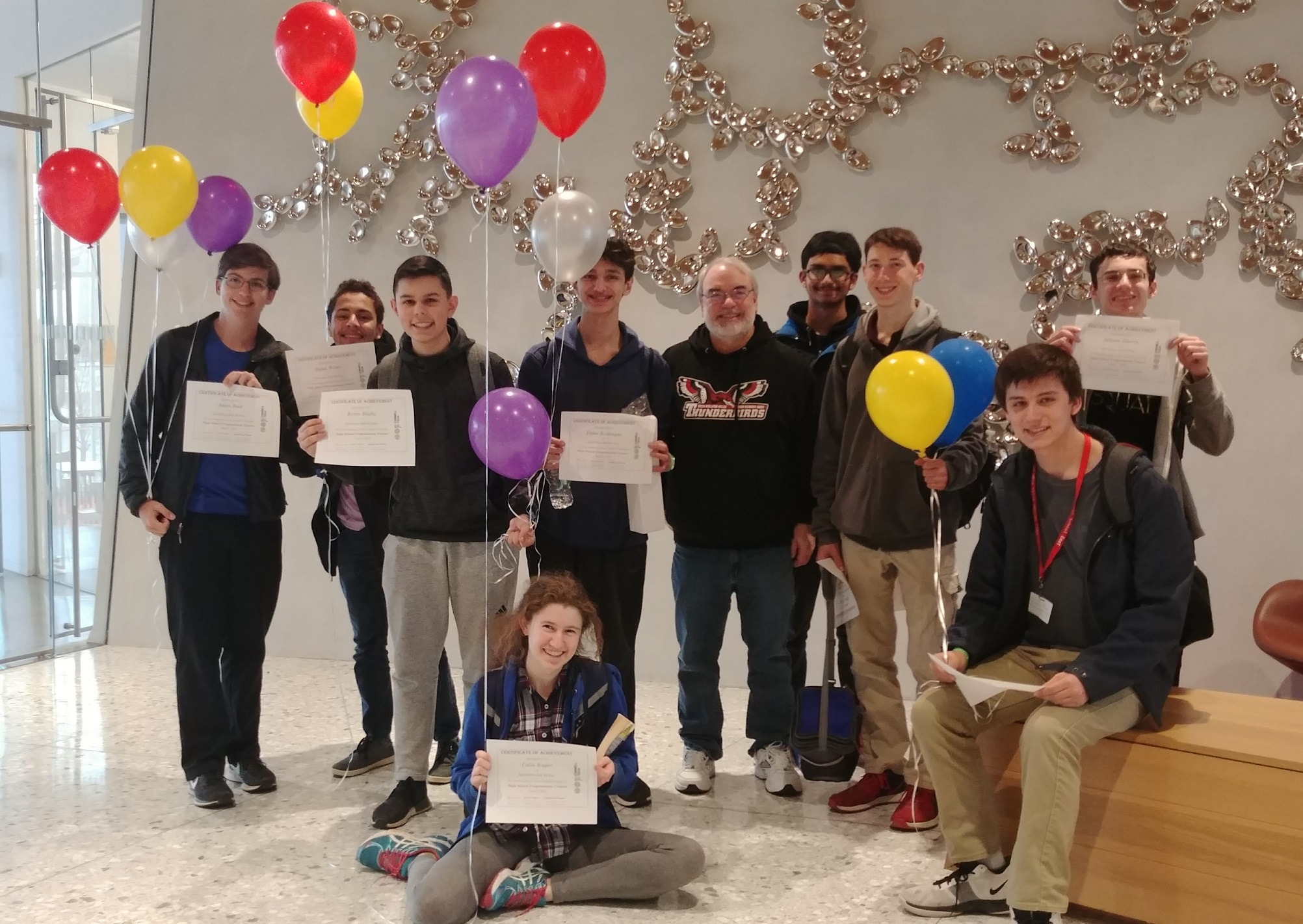 East's Computer Club Places At  Cornell High School Computer Programming Contest
