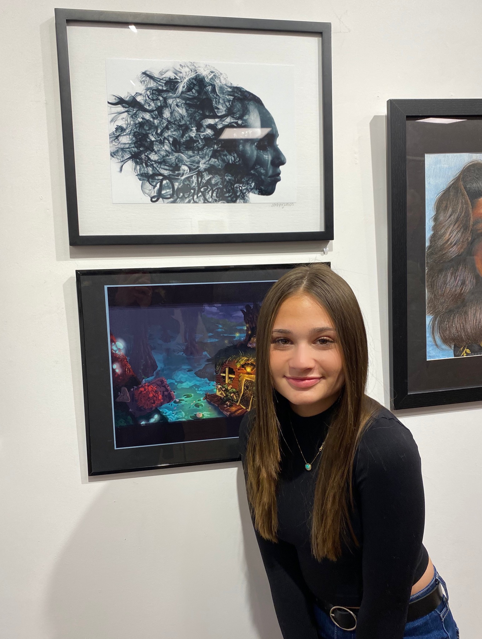 AP Photography Student Jordyn Simon's Work Featured At Art Visions Exhibition