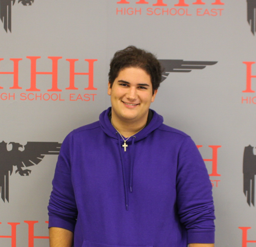 East's Nicholas Likos Wins National Speech & Debate Association All American Award
