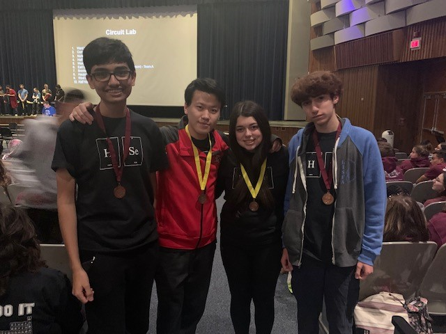 Hills East Science Olympiad Team Medals At State Competition