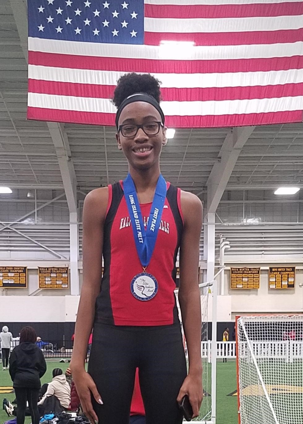 East's Soledad Jean Wins Second Consecutive Long Island Elite Meet Championship High Jump