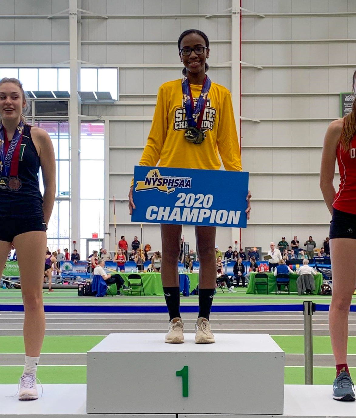 East's Soledad Jean Is New York State Champion In The High Jump For 3rd Consecutive Season