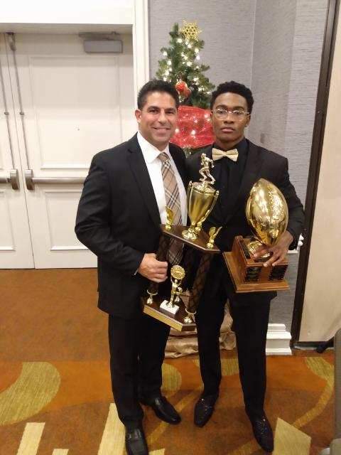 West's Justin Brown Wins Second Consecutive Joe Cipp Jr. Award For Best Running Back In Suffolk County