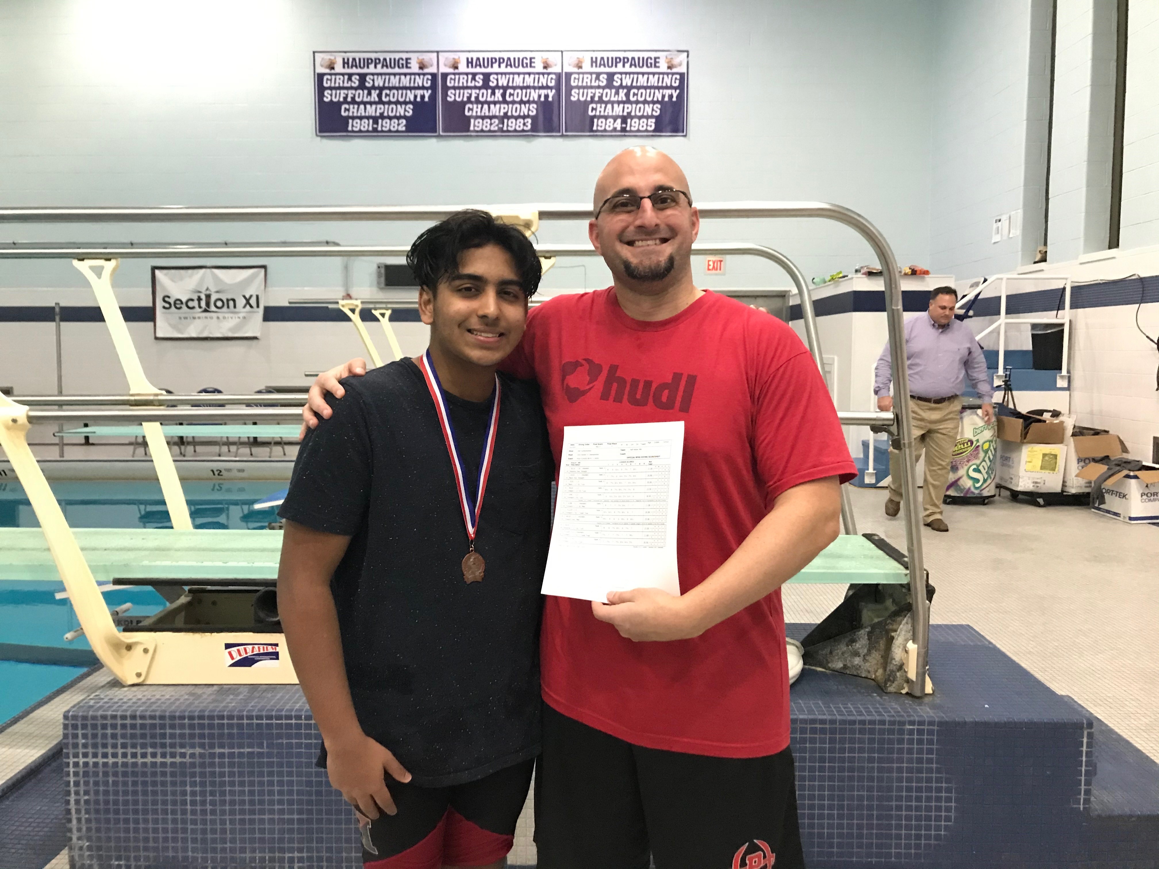 Hills West's Josh Sundararaman Becomes 4th Hills Diver Since 1997 To Qualify For State Championship