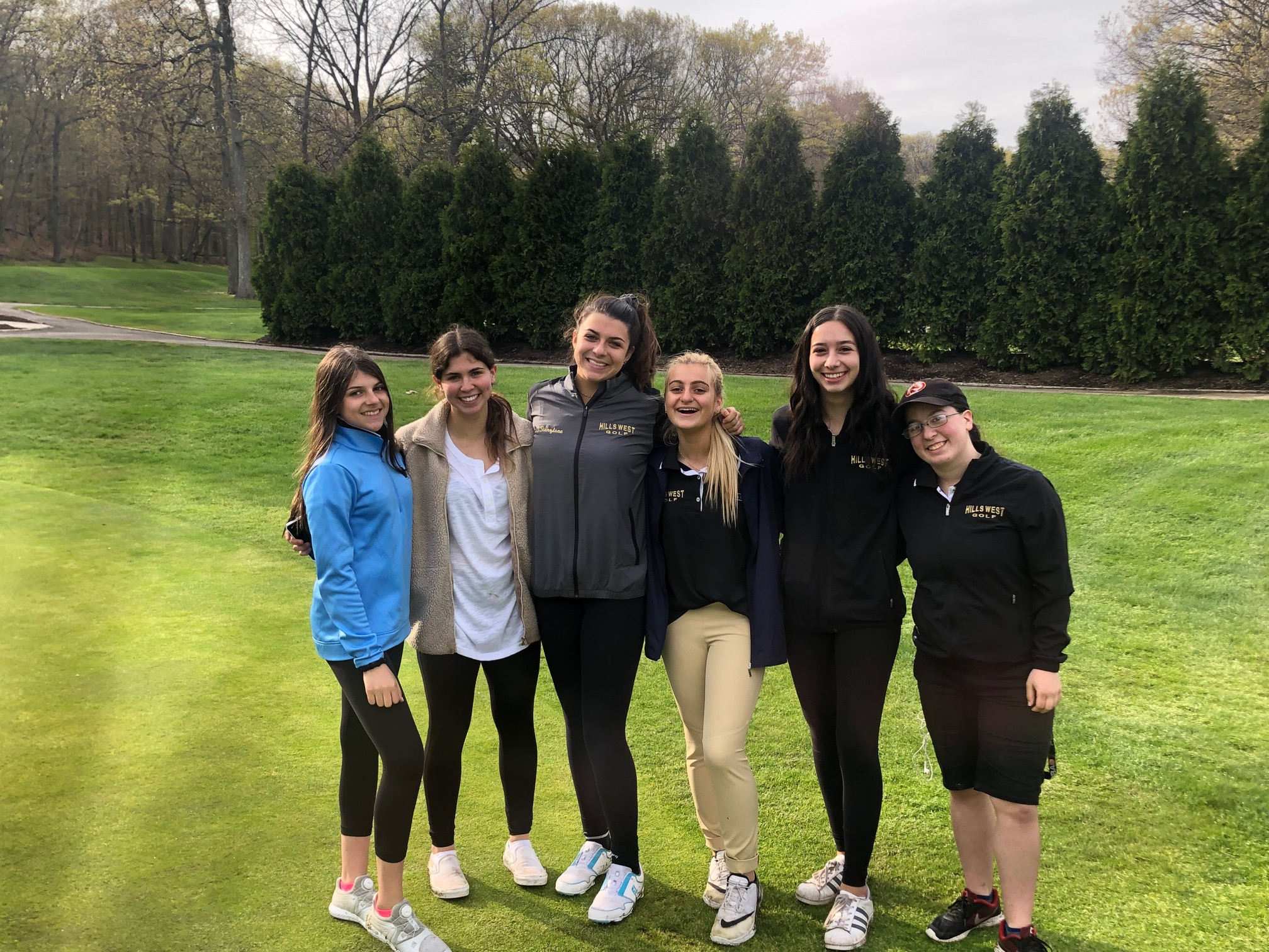 Hills West Girls Golf Wins First League Championship