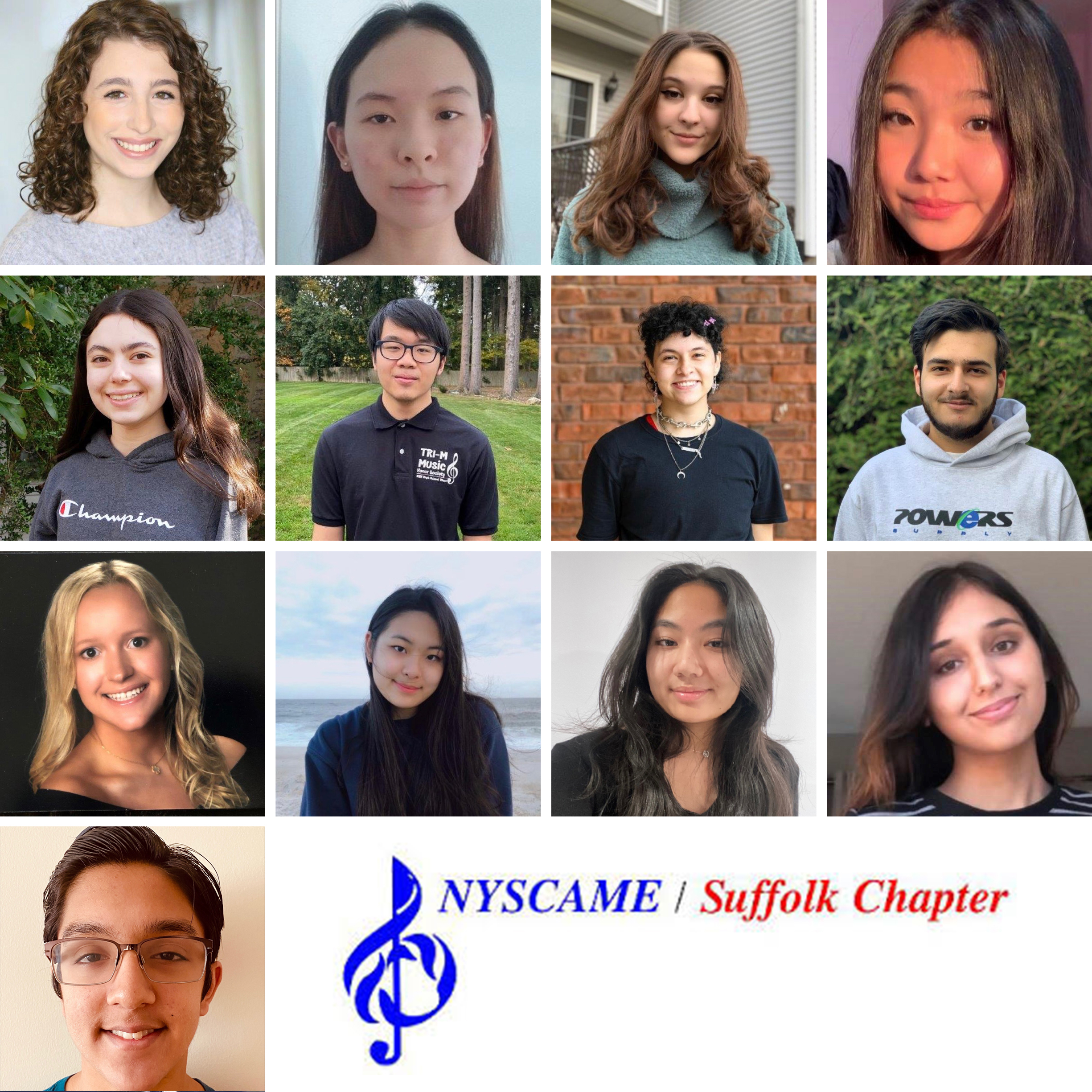Hills West Musicians Selected For NYSCAME High School All-County Music Festival