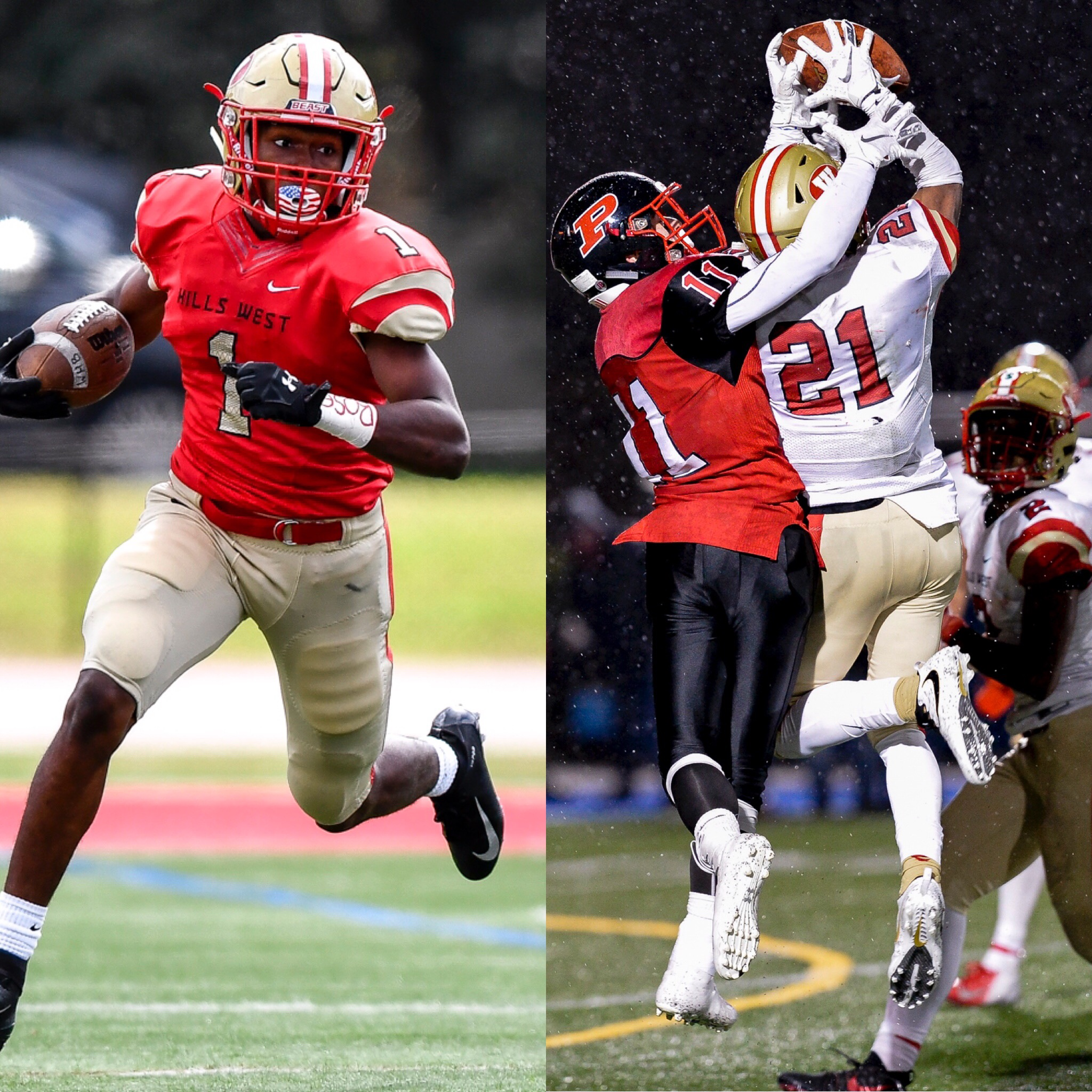 Hills West Football Players Named To NYSSWA All-State Football 1st Team