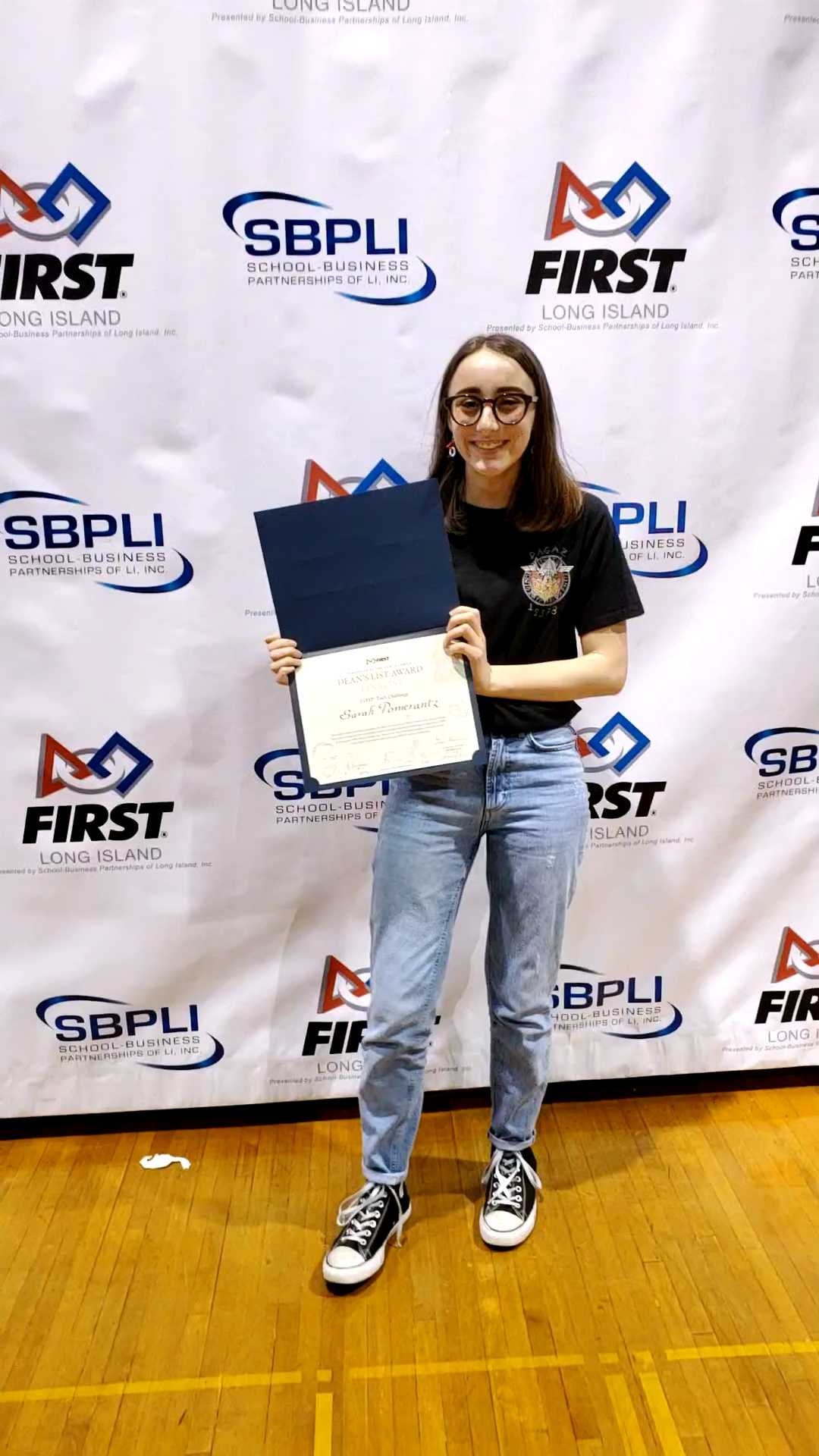 West's Sarah Pomerantz A Deans List Finalist In FIRST Tech Challenge Regional Competition