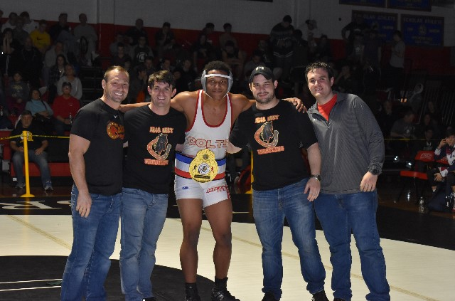 "West's Terrence Taylor Wins At Syosset's ""Battle for the Belt"" Wrestling Tournament"