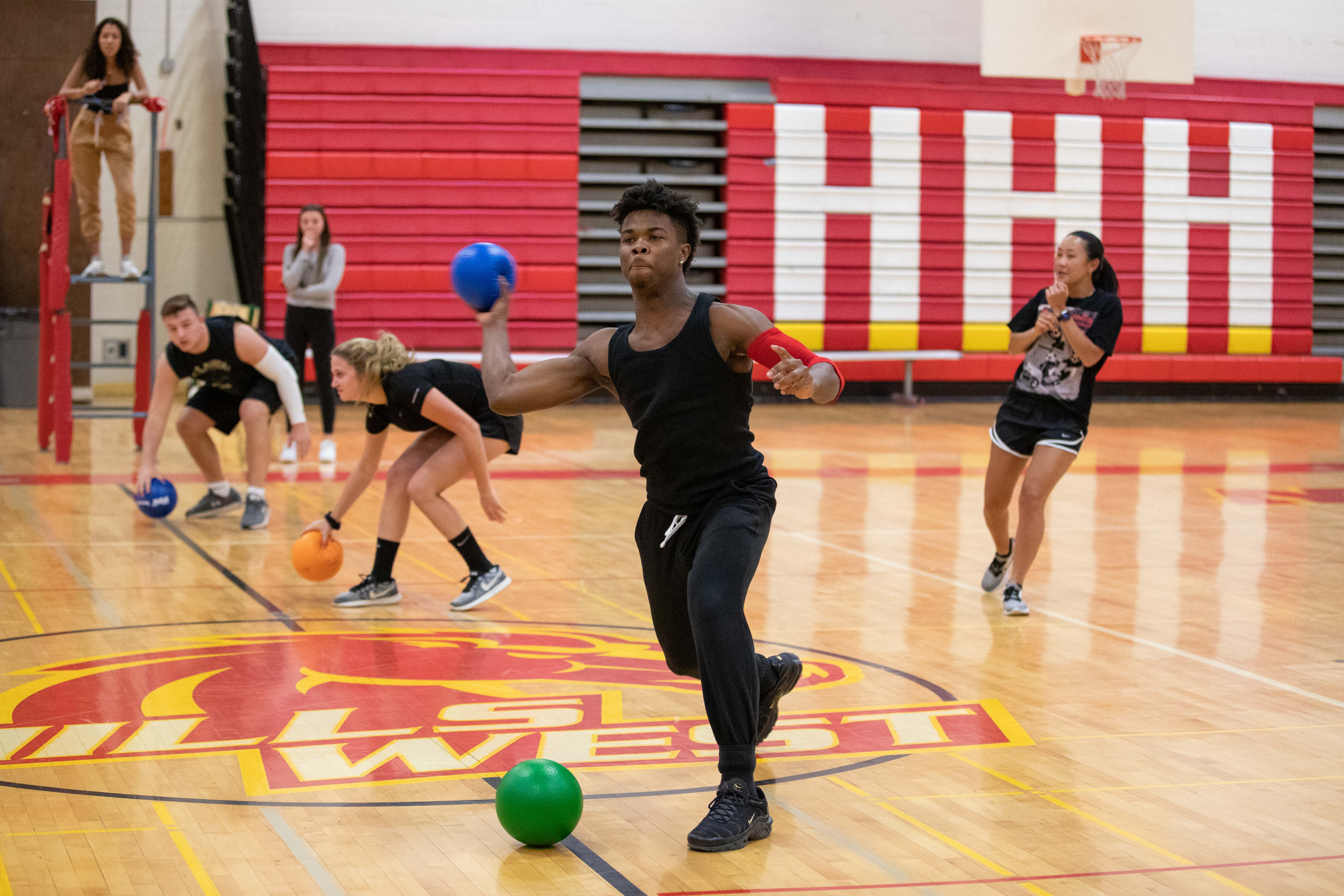 Hills West Varsity Club Hosts 12th Annual Charity Dodgeball Tournament