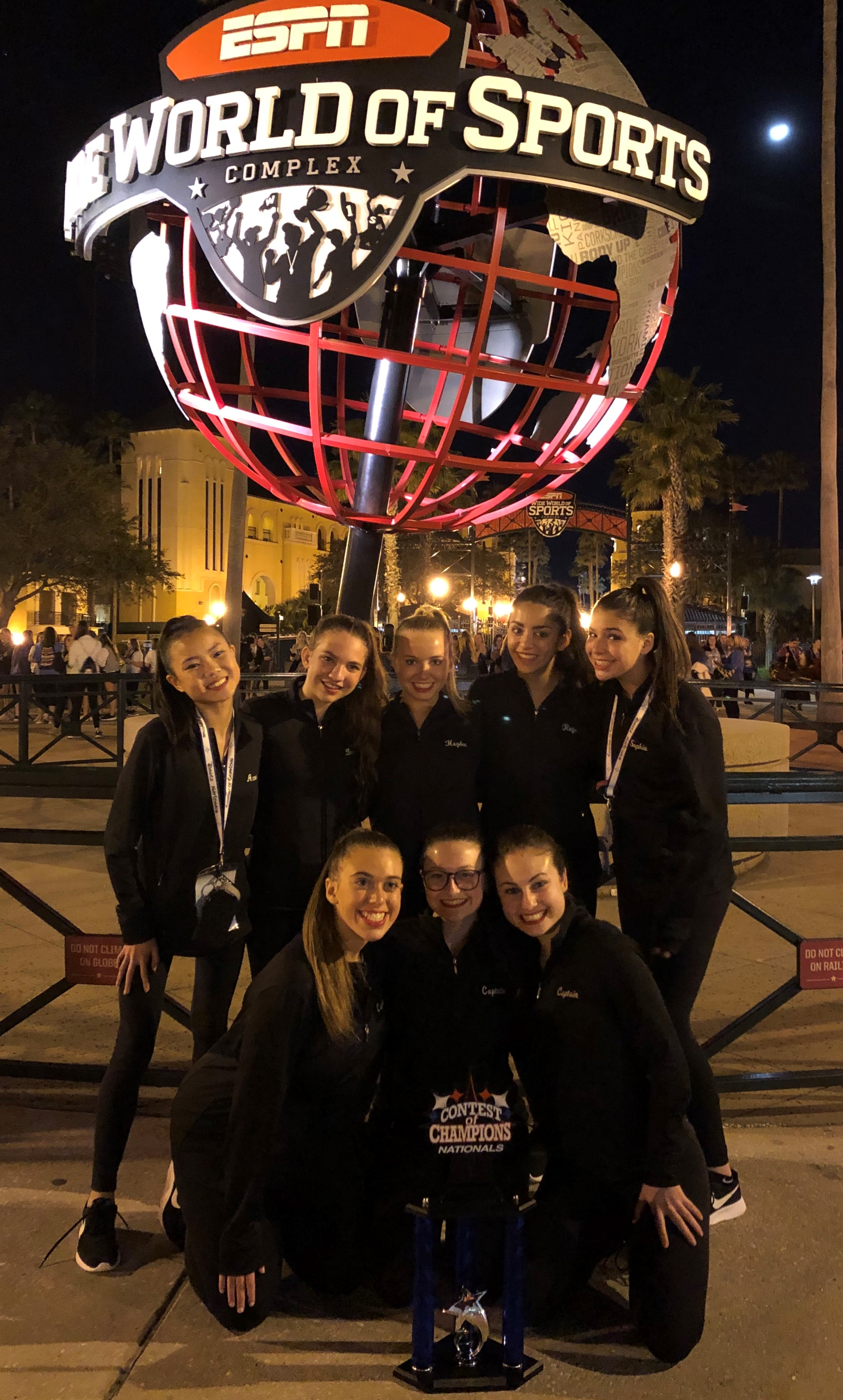 Hills West Wrangs Dance Team Place 3rd At Contest Of Champions National Championships