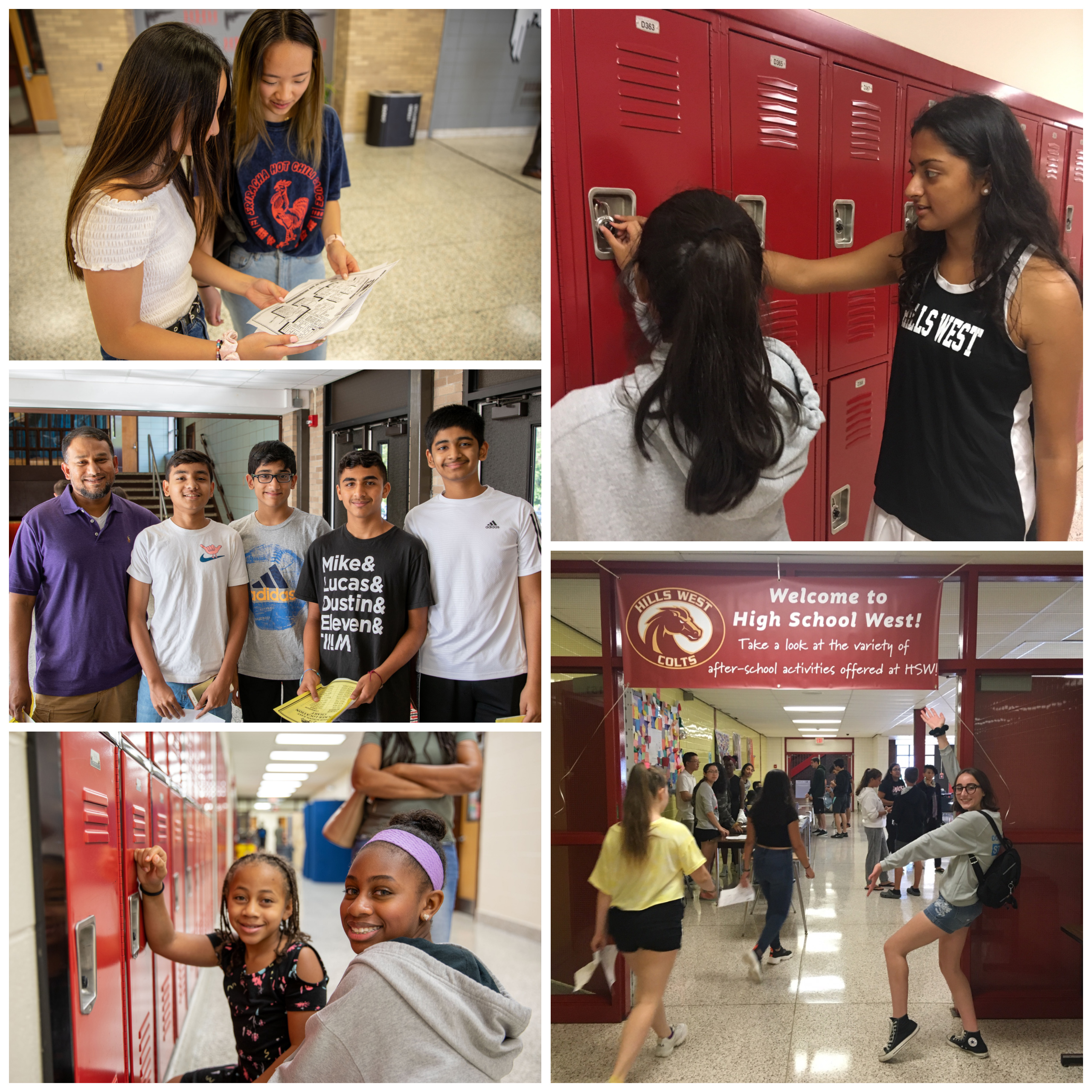 Hills East and West Welcomed Incoming Freshman During Orientation Programs
