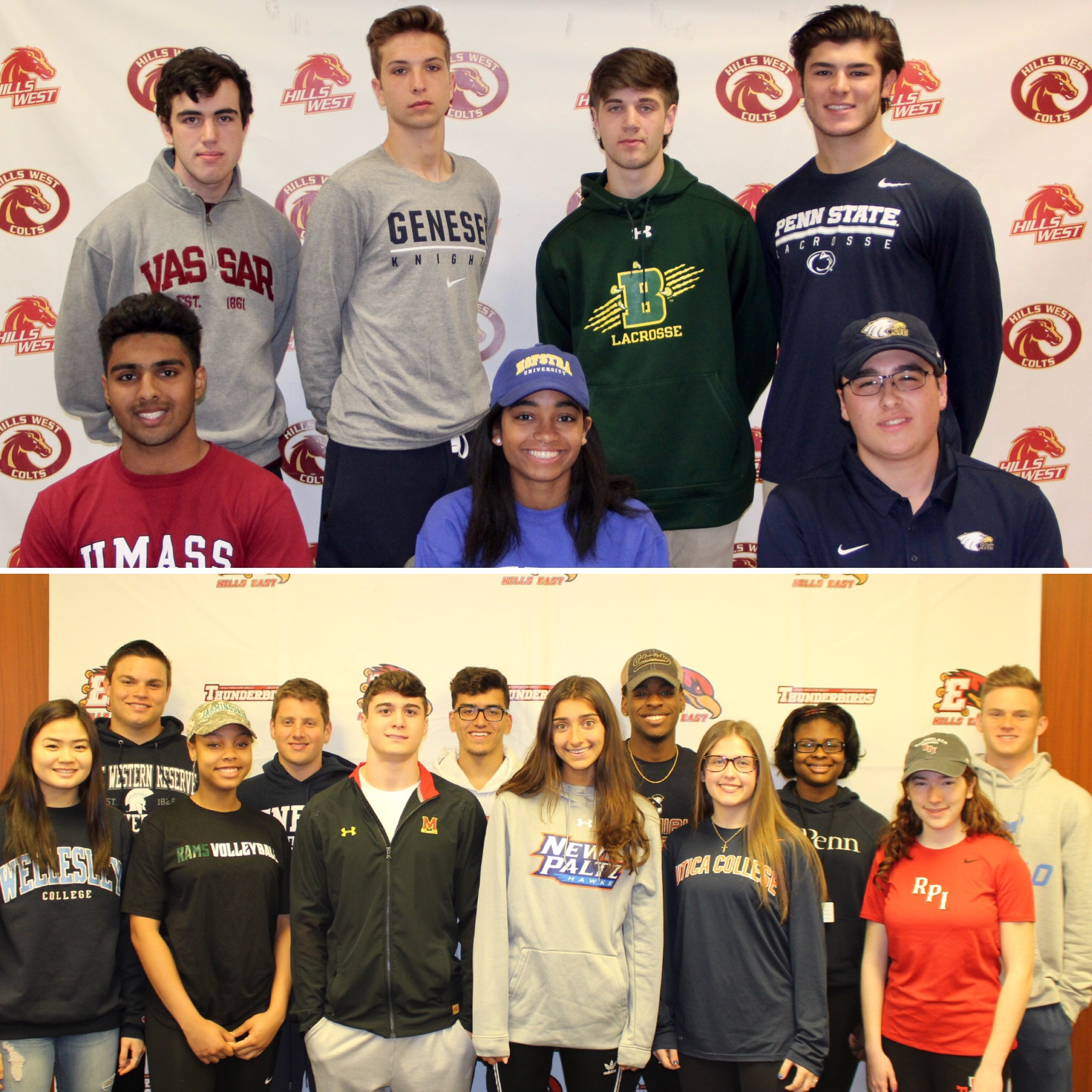 Spring Athletic Signing Day