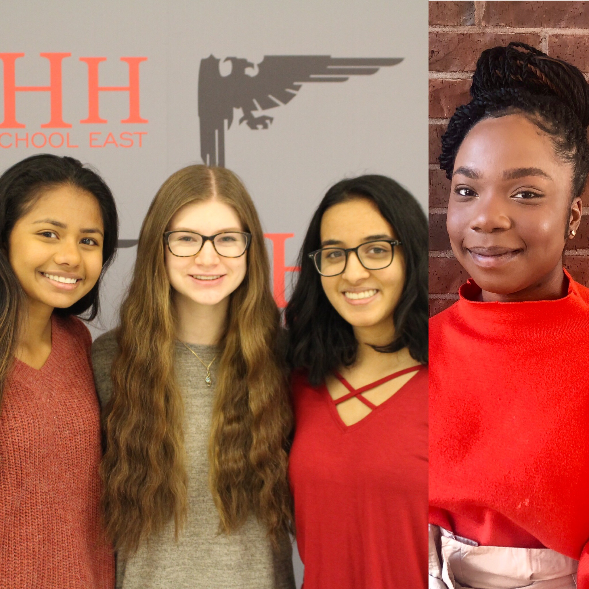 Four Semifinalists in the Coca-Cola Scholars Program