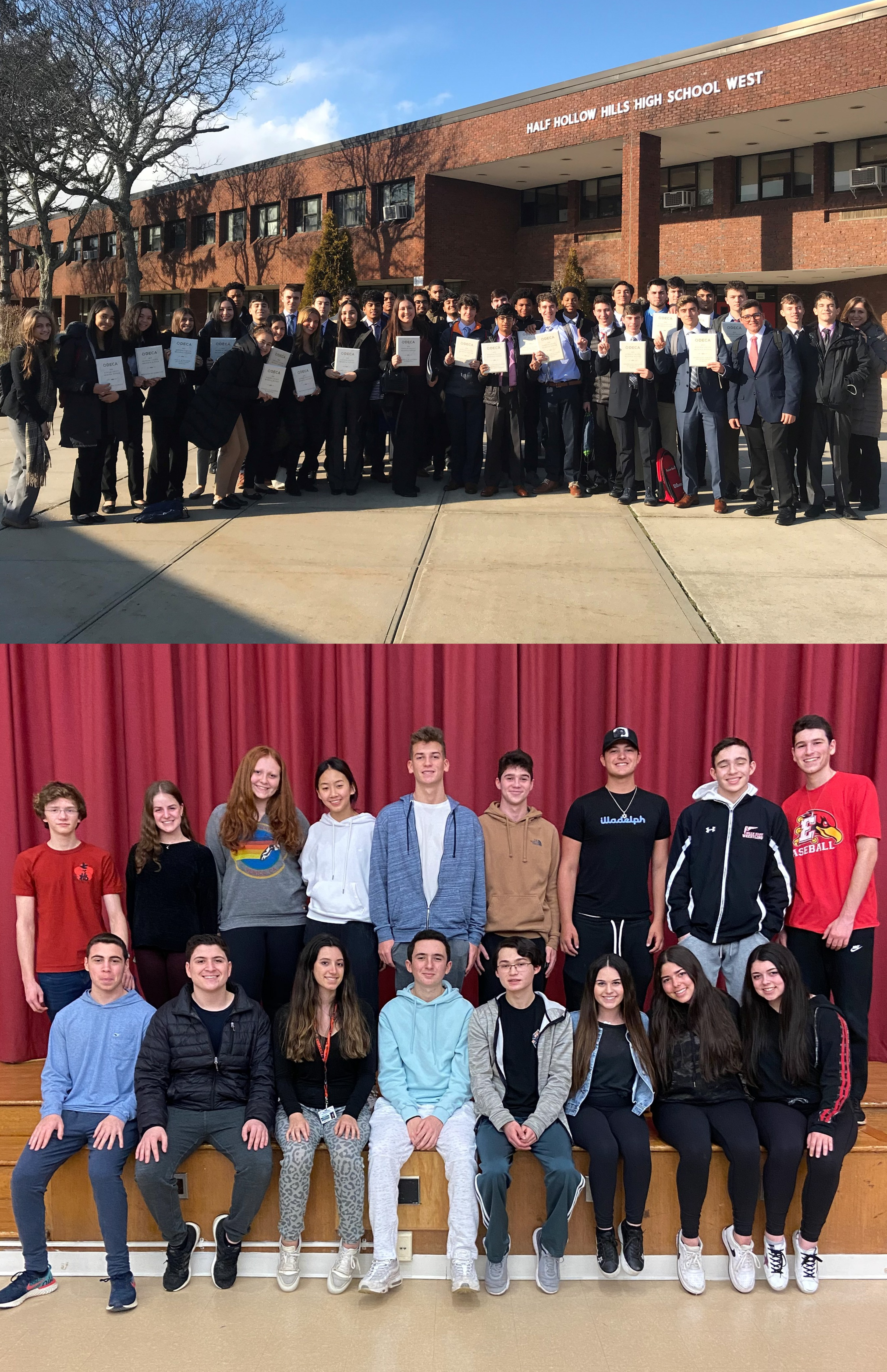 Hills East & West Business Students Place At DECA Suffolk County Regional Competition