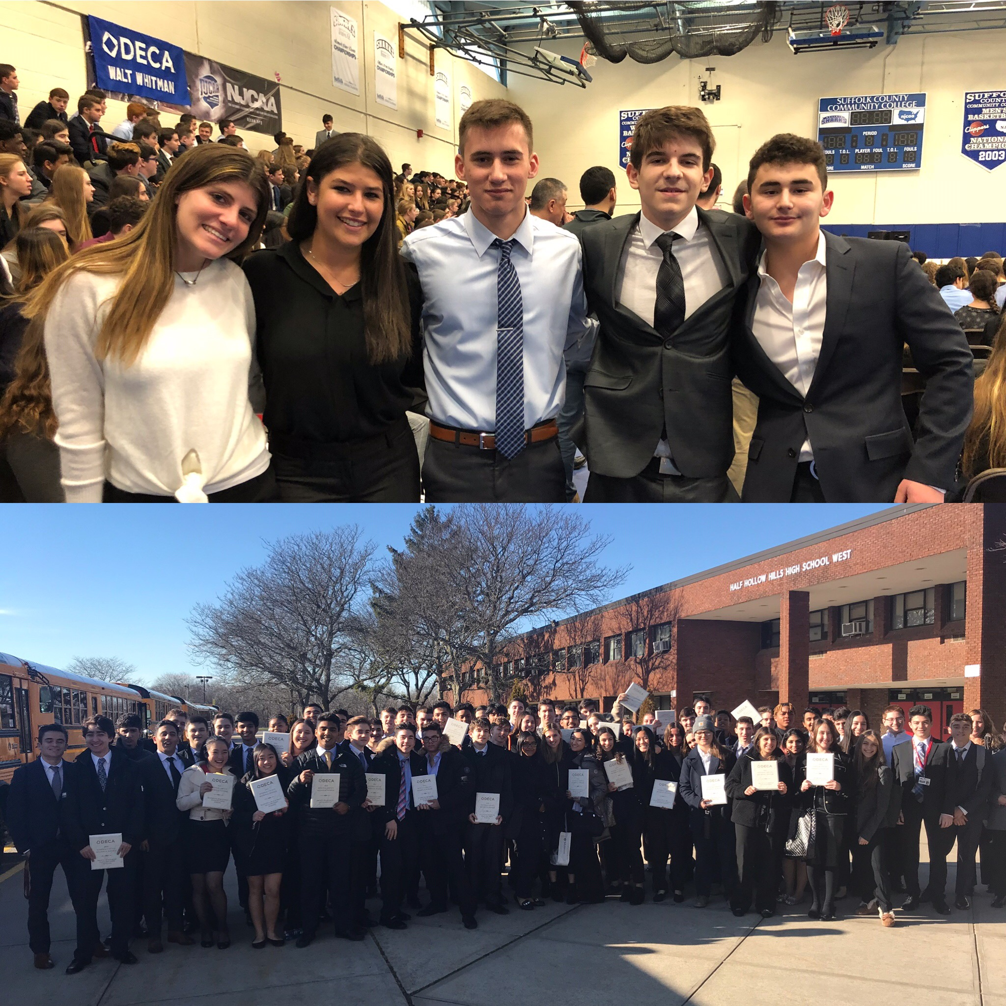 DECA Teams Place At Regional Competition