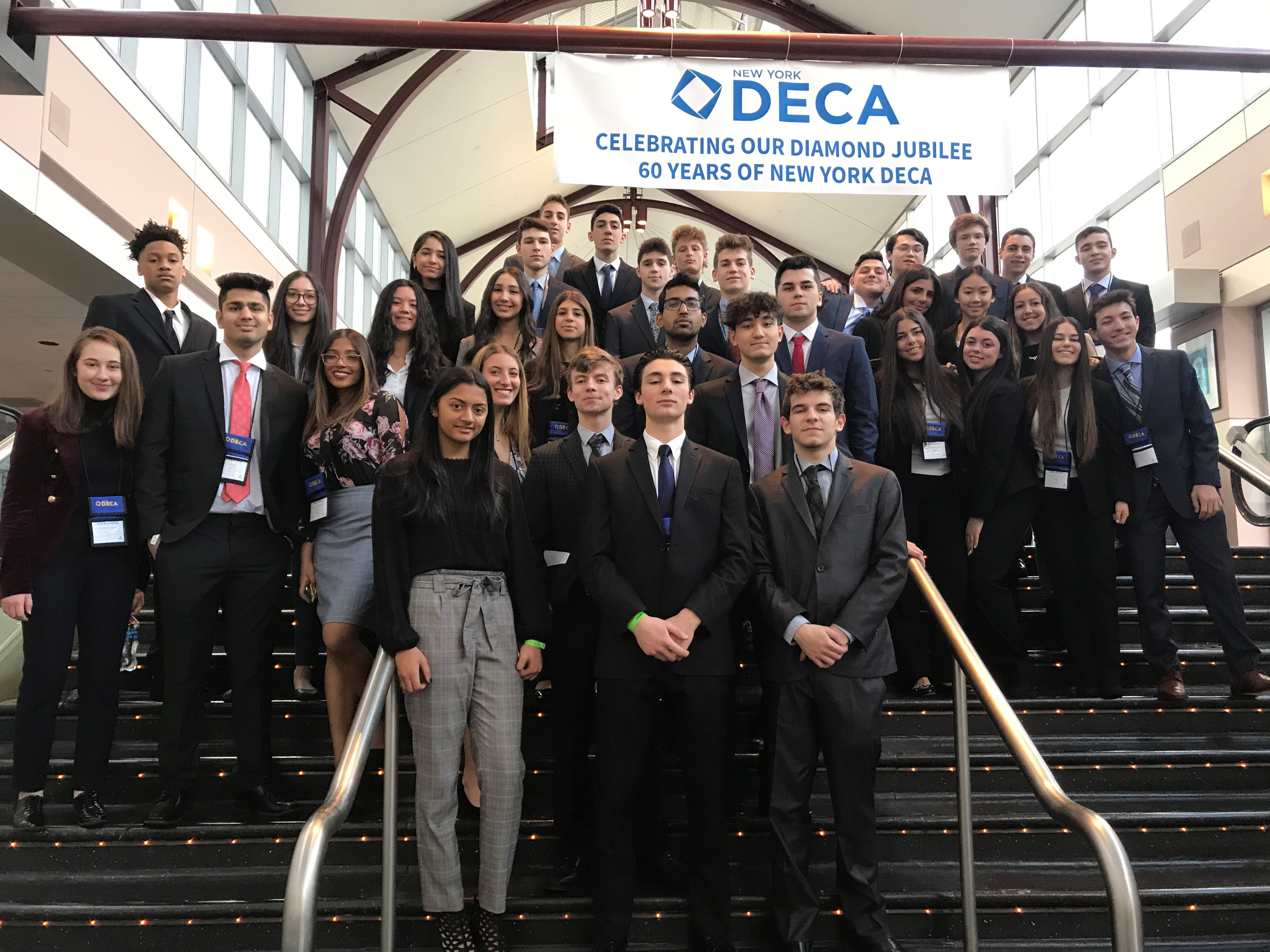 West & East Business Students Win At New York State DECA 60th Annual State Career Conference