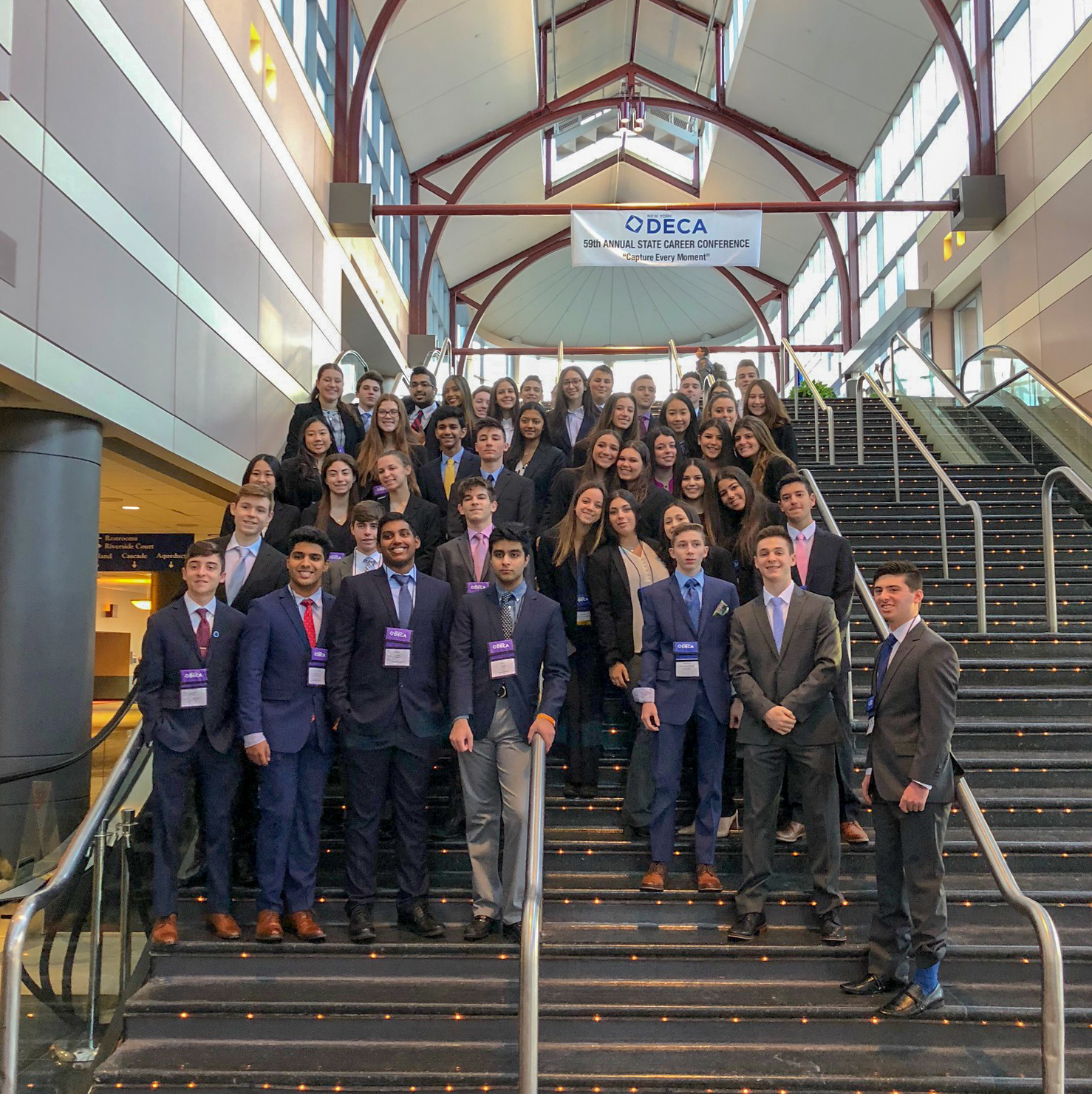 Hills DECA Teams Find Success At State Conference