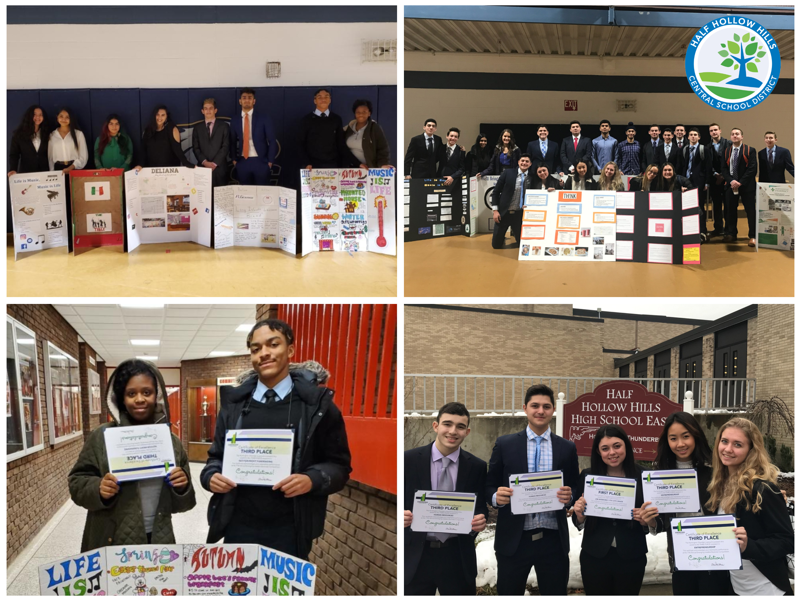 West & East Business Students Place At Emerging Leaders Business Competition
