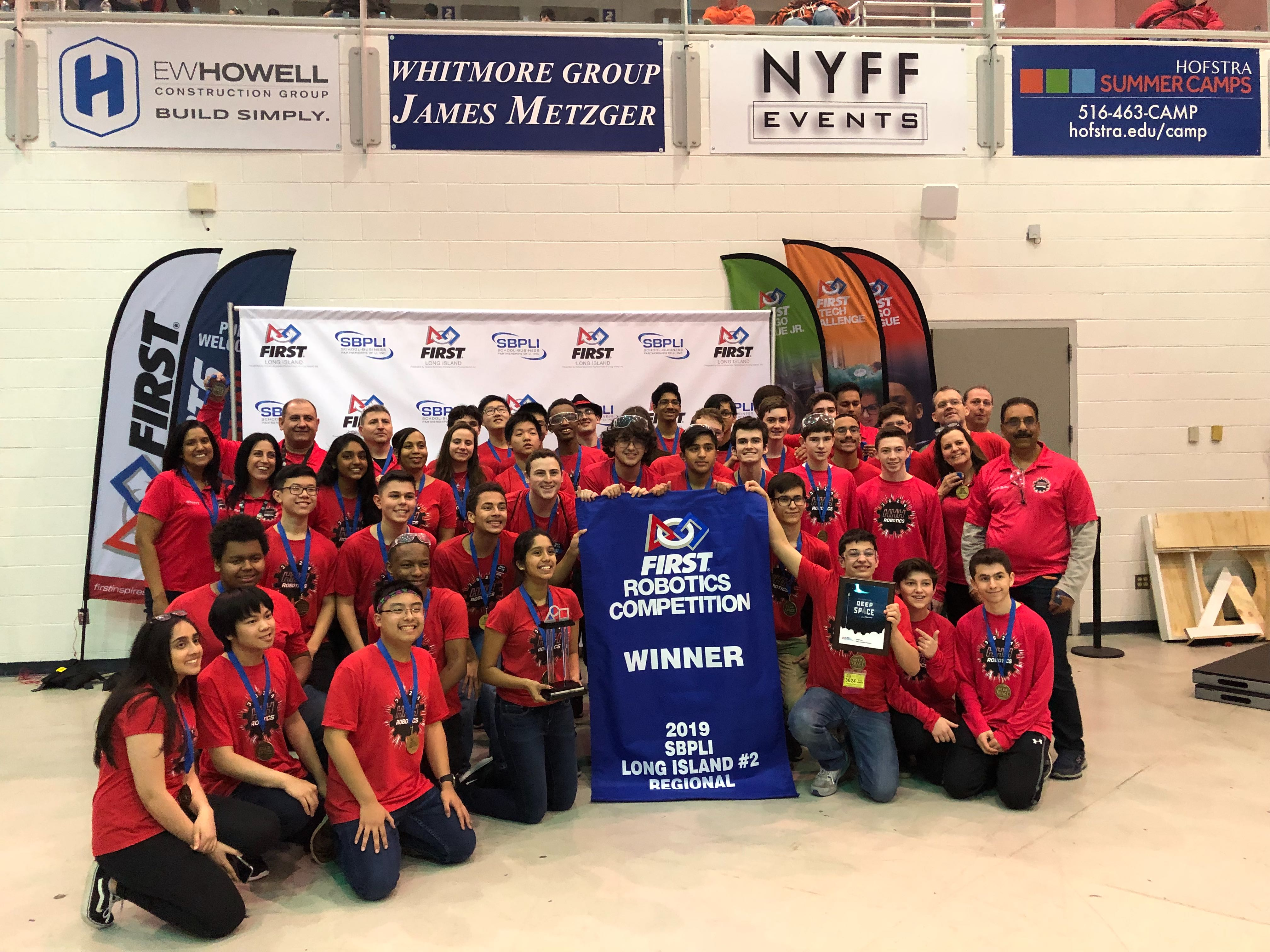 Thundercolts FRC Robotics Team Wins Regional Competition