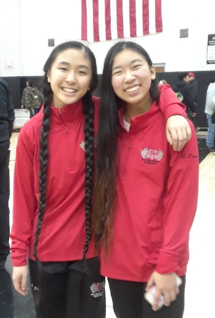 Erica Chen Wins Second Straight County Title In Sabre During Fencing County Championship
