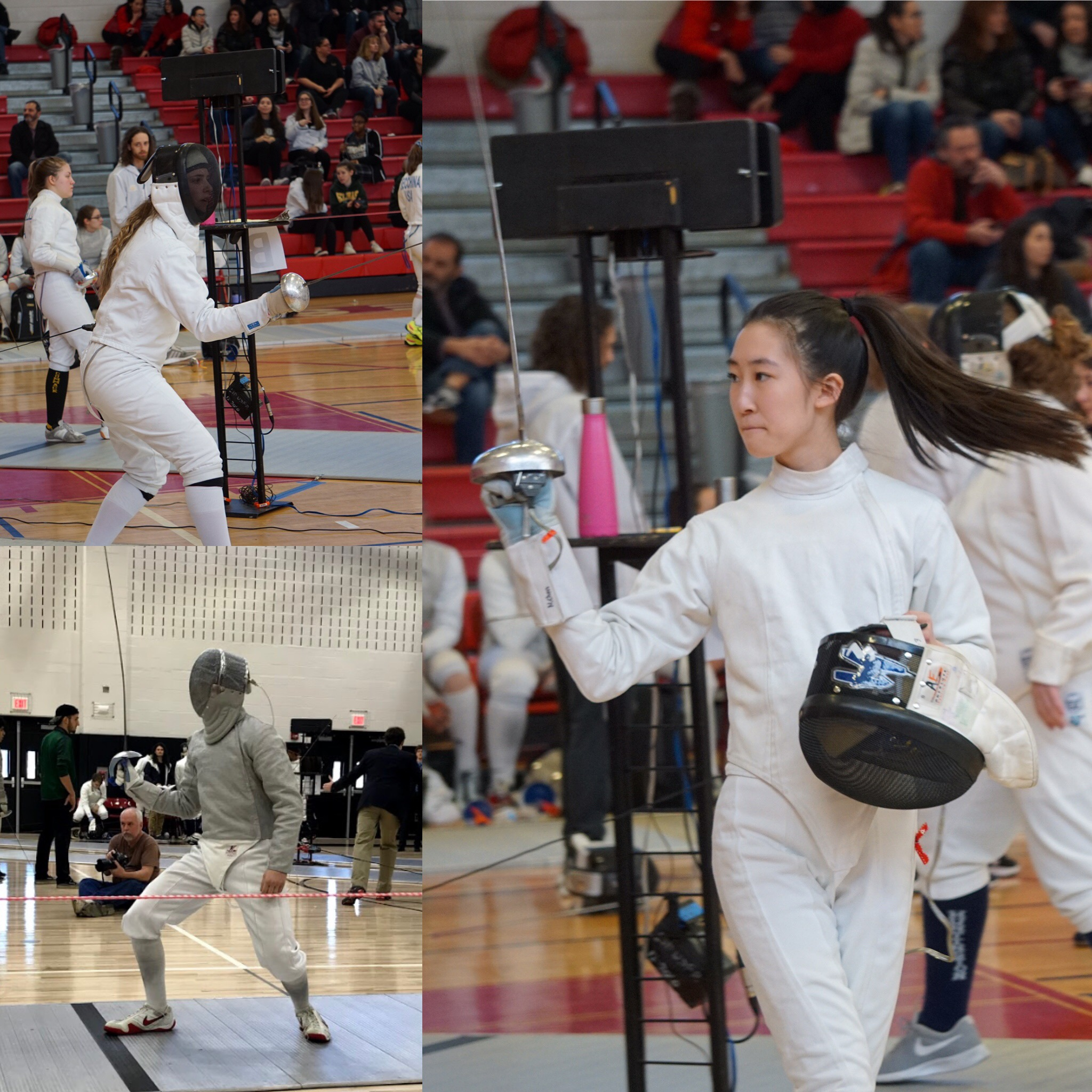 Hills' Fencing Teams Finish Successful Seasons