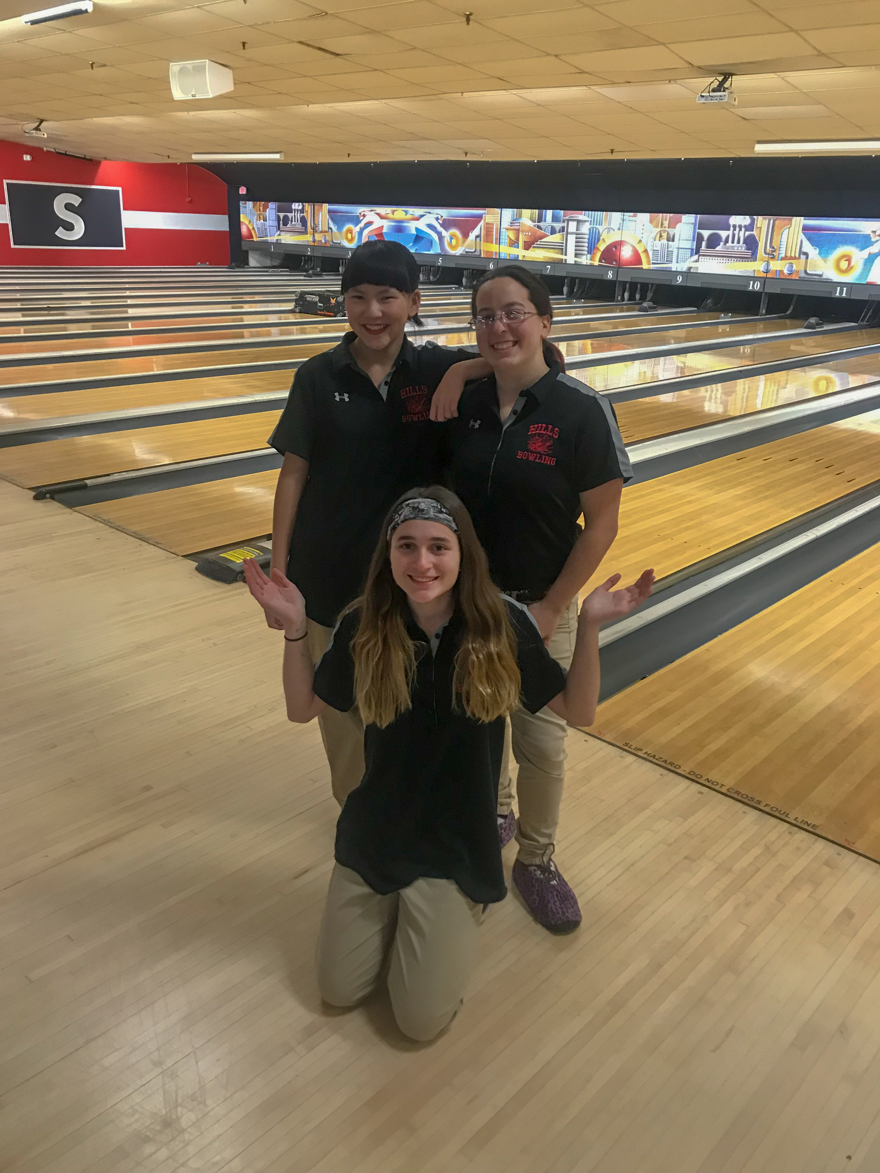 Hills Girls Bowling Team Has Great Inaugural Season