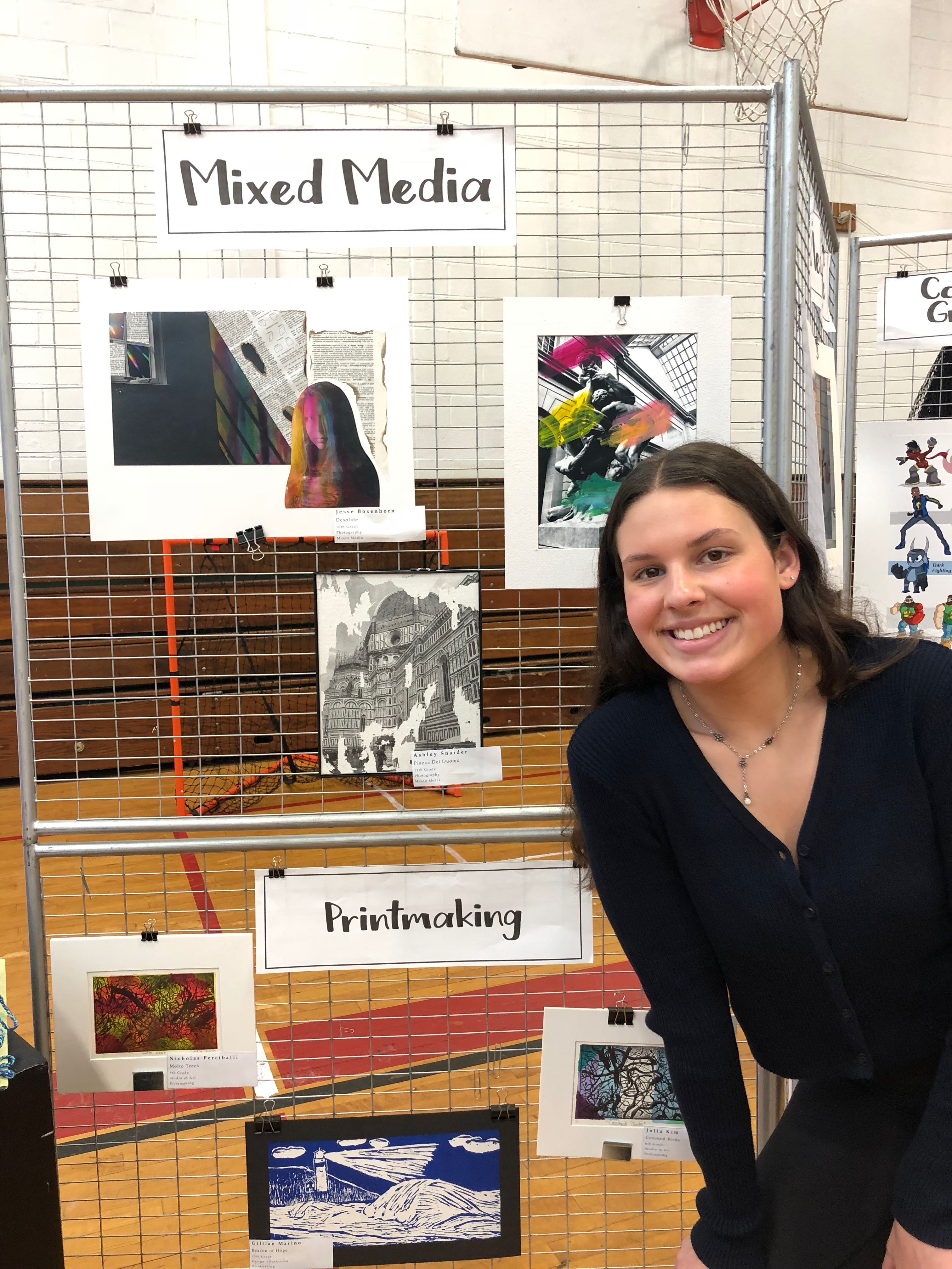 Fine Arts Students Display Work At District-wide Secondary Art Show