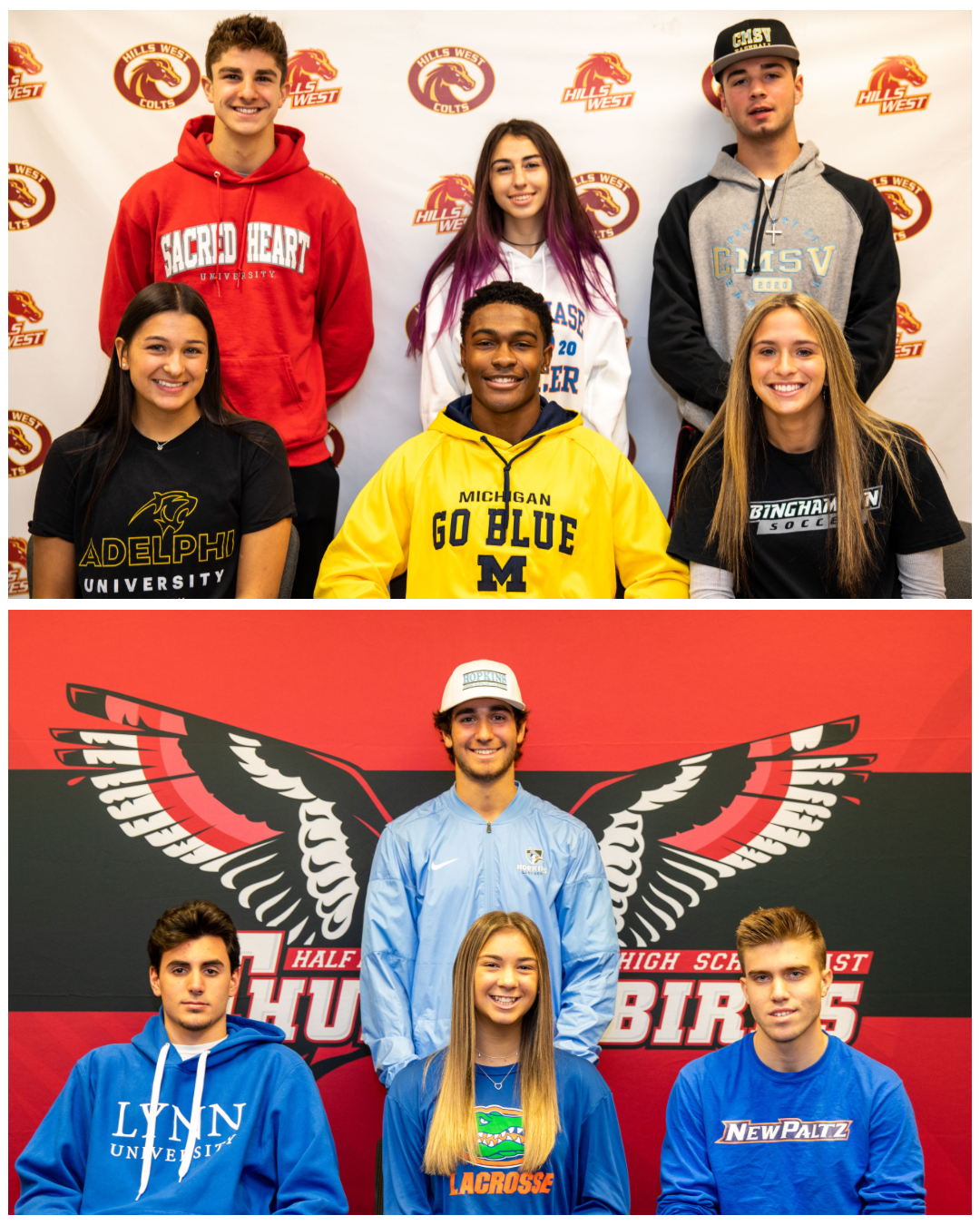 Fall Athletic Signing Day