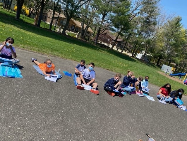 Otsego Students Take Their Learning Outdoors