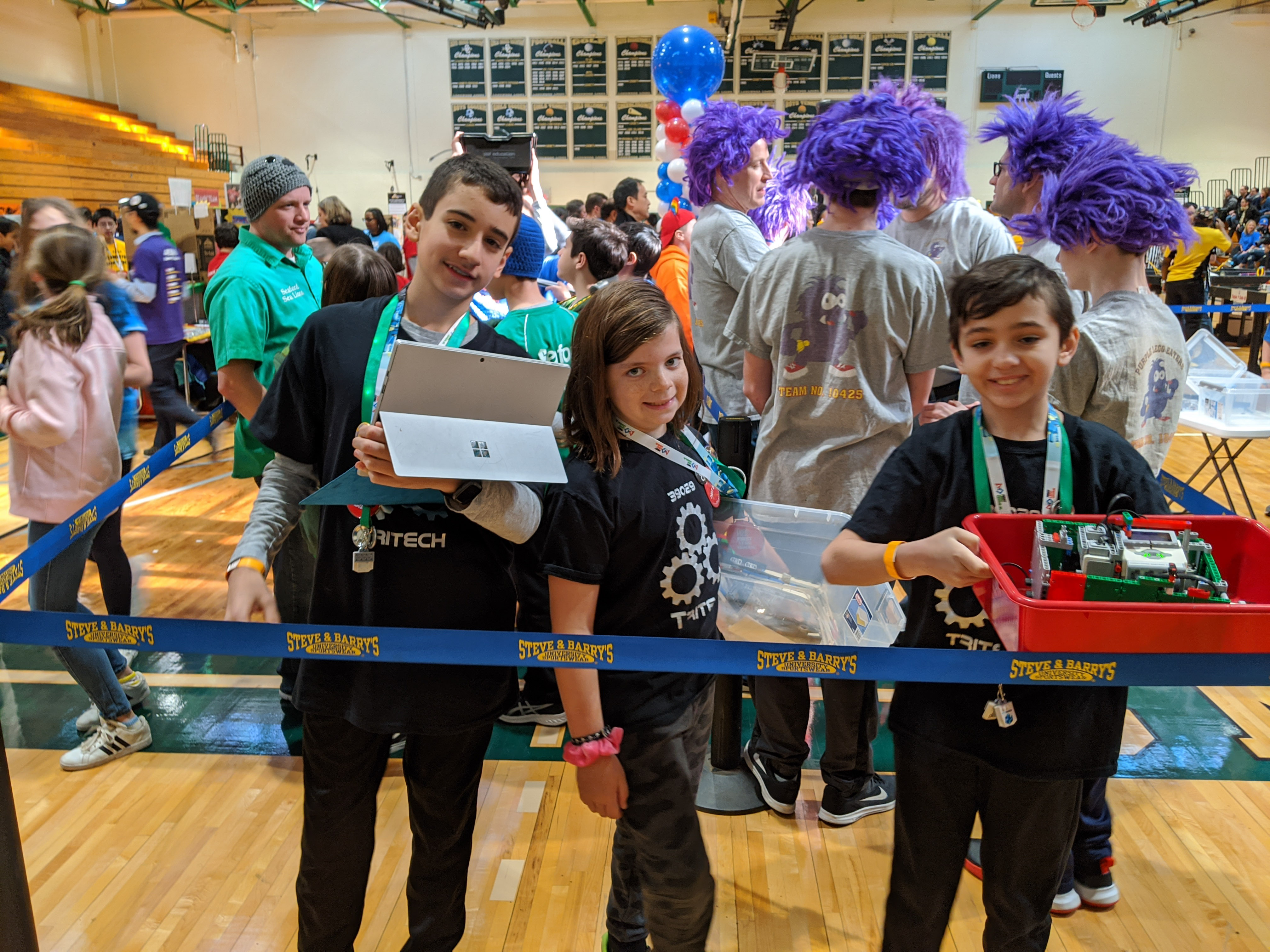 Students from Otsego And West Hollow Win Innovative Solution Award At LI Regional FIRST LEGO League Championship