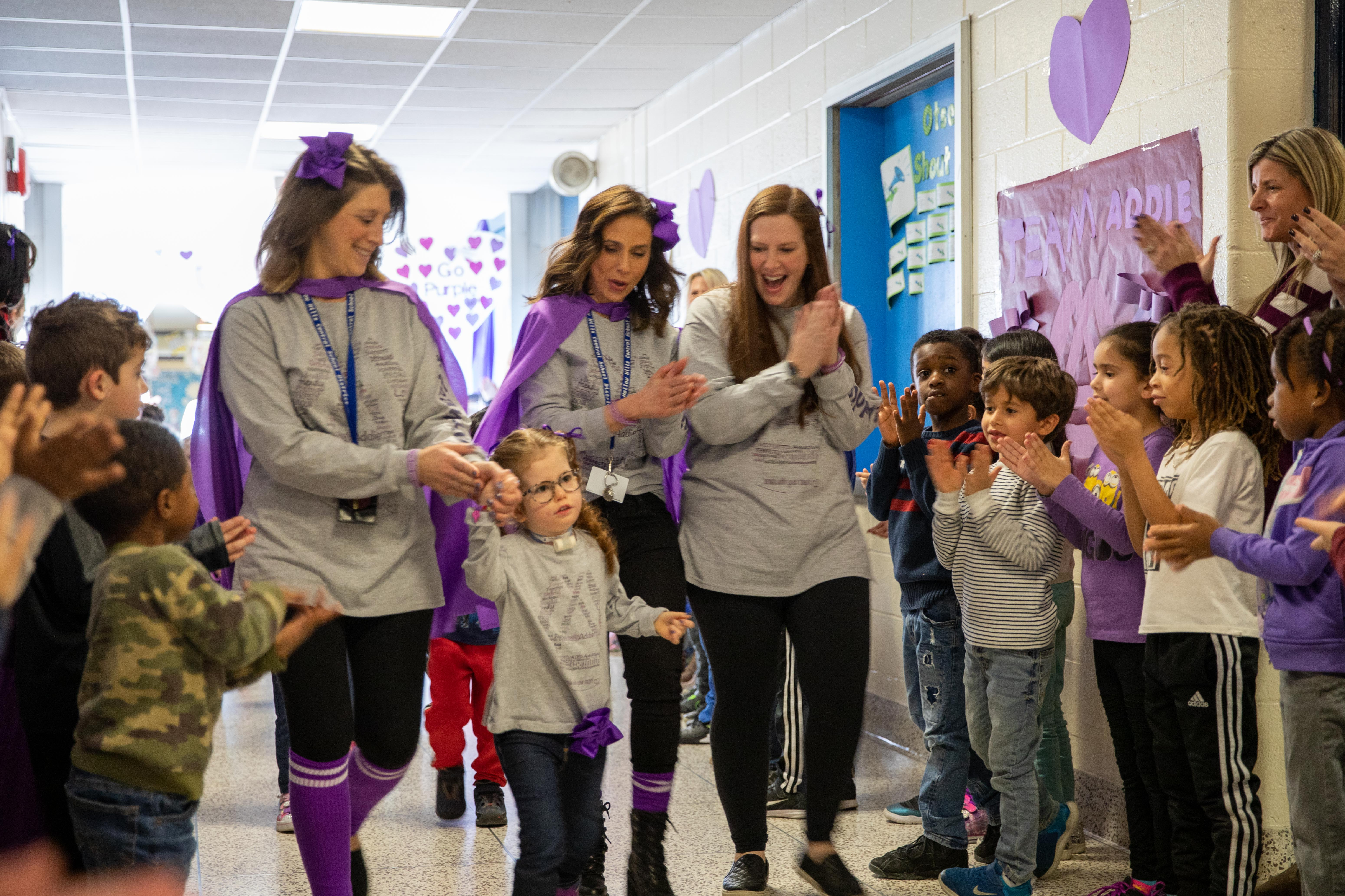 Otsego Elementary Goes Purple For Moebius Syndrome Awareness Day