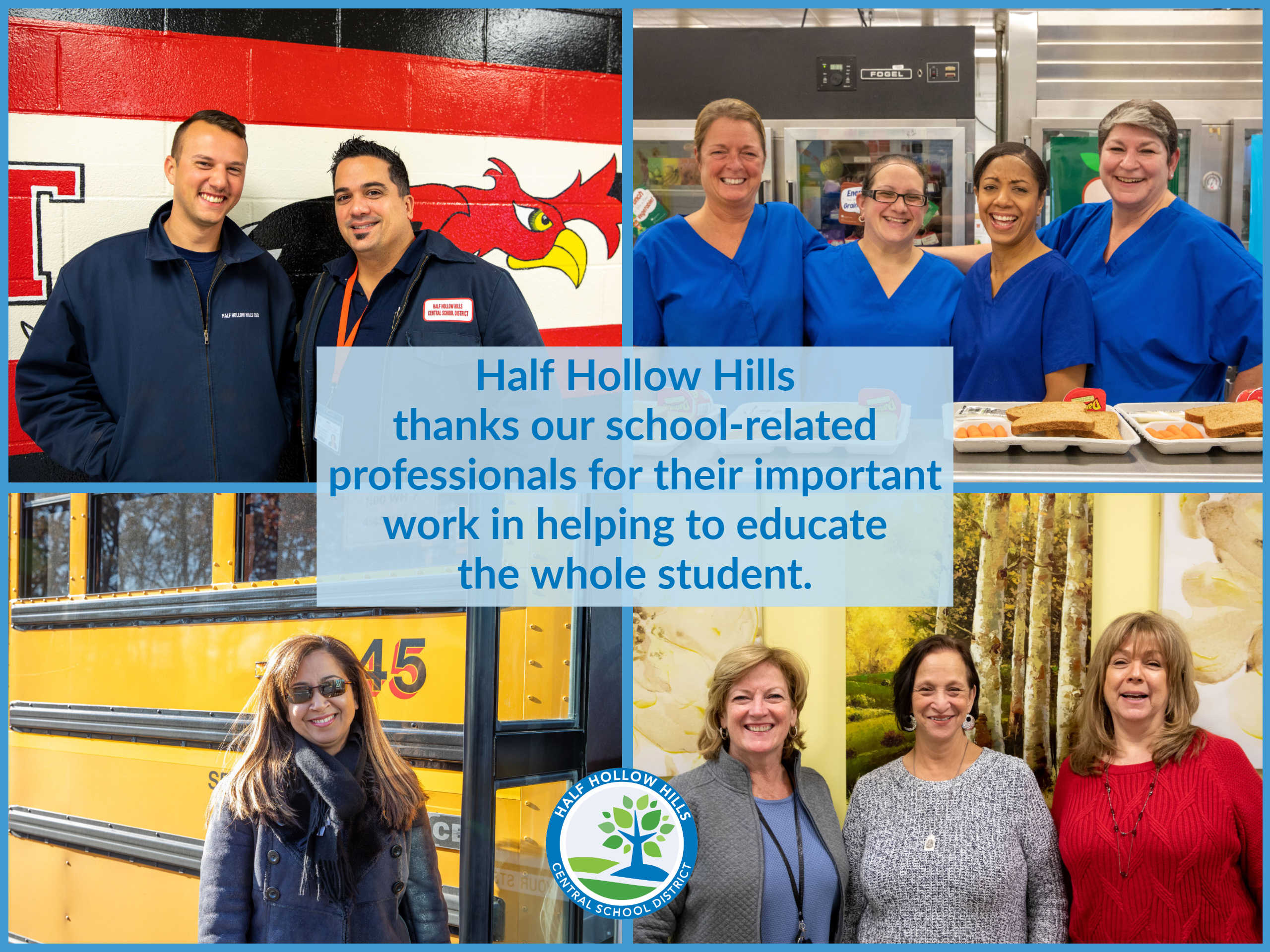 Half Hollow Hills Thanks Our School-Related Professionals