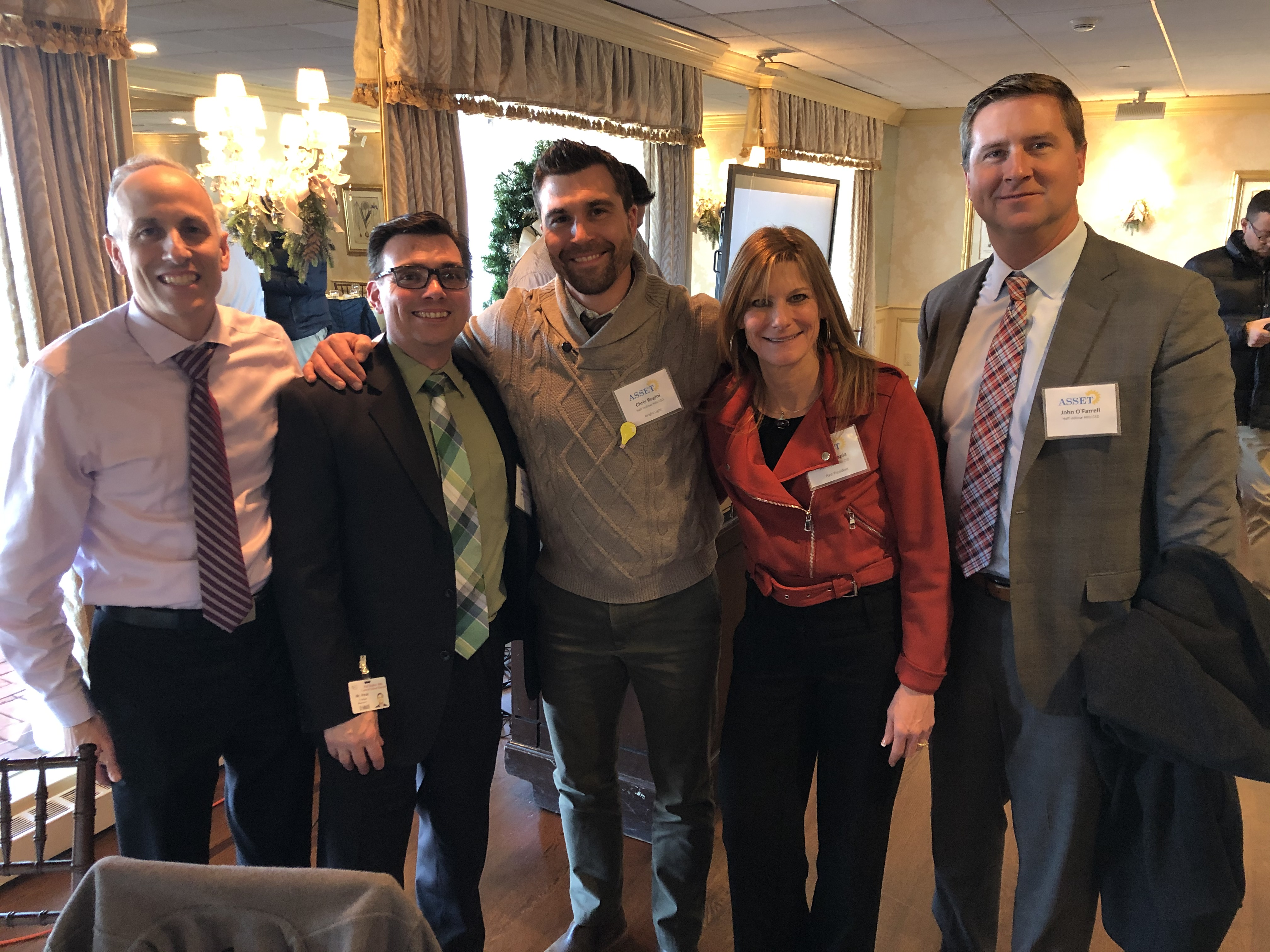 West Hollow's Mr. Regini Honored As Bright Light By ASSET