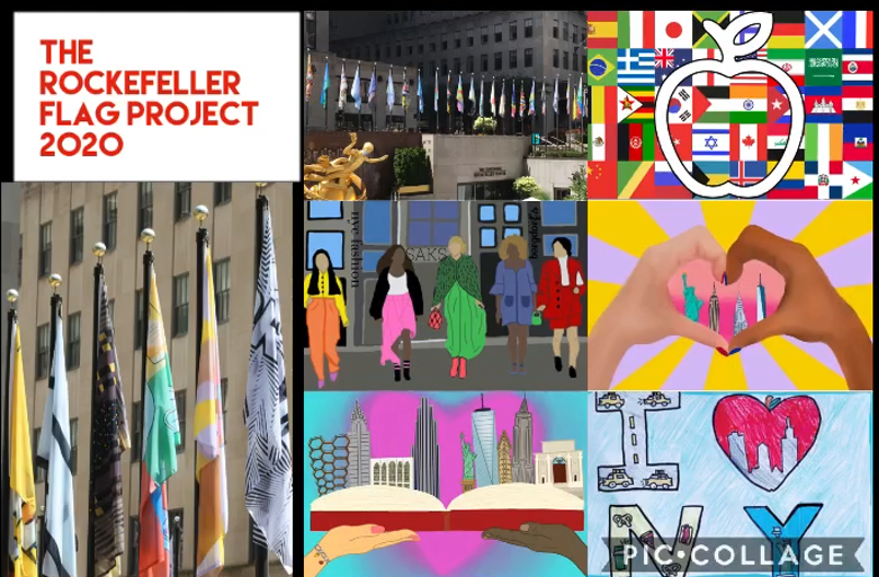 Five West Hollow Art Students Honored by the Flag Project at Rockefeller Center