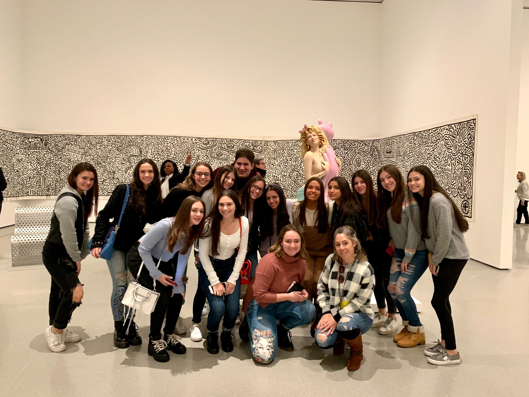 AP Art History and Photography Students Visit the Museum of Modern Art