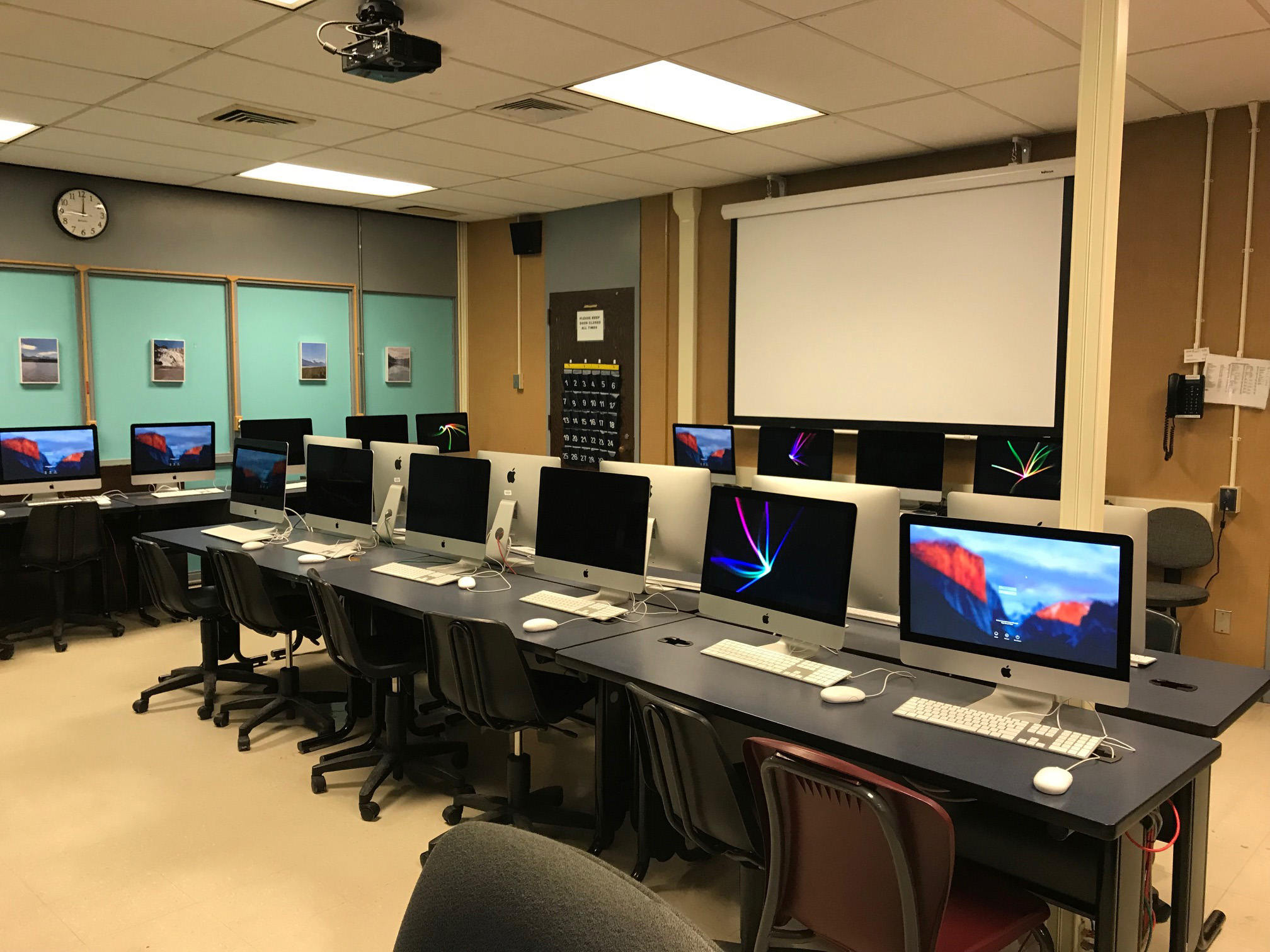 HSW Computer Lab - Half Hollow Hills School District