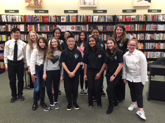 Candlewood's Tri-M Students Perform at Barnes and Noble