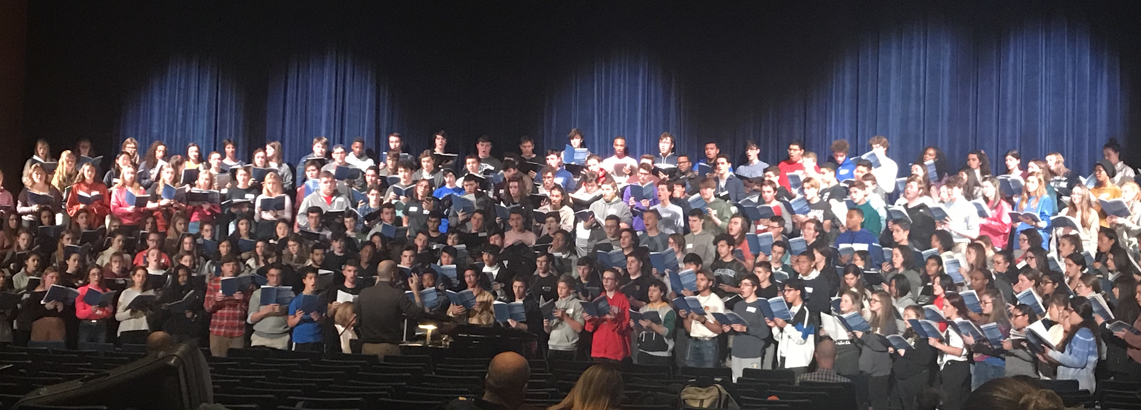 Students Perform in the NYSCAME/SCMEA/LISFSA All-County High School Concert